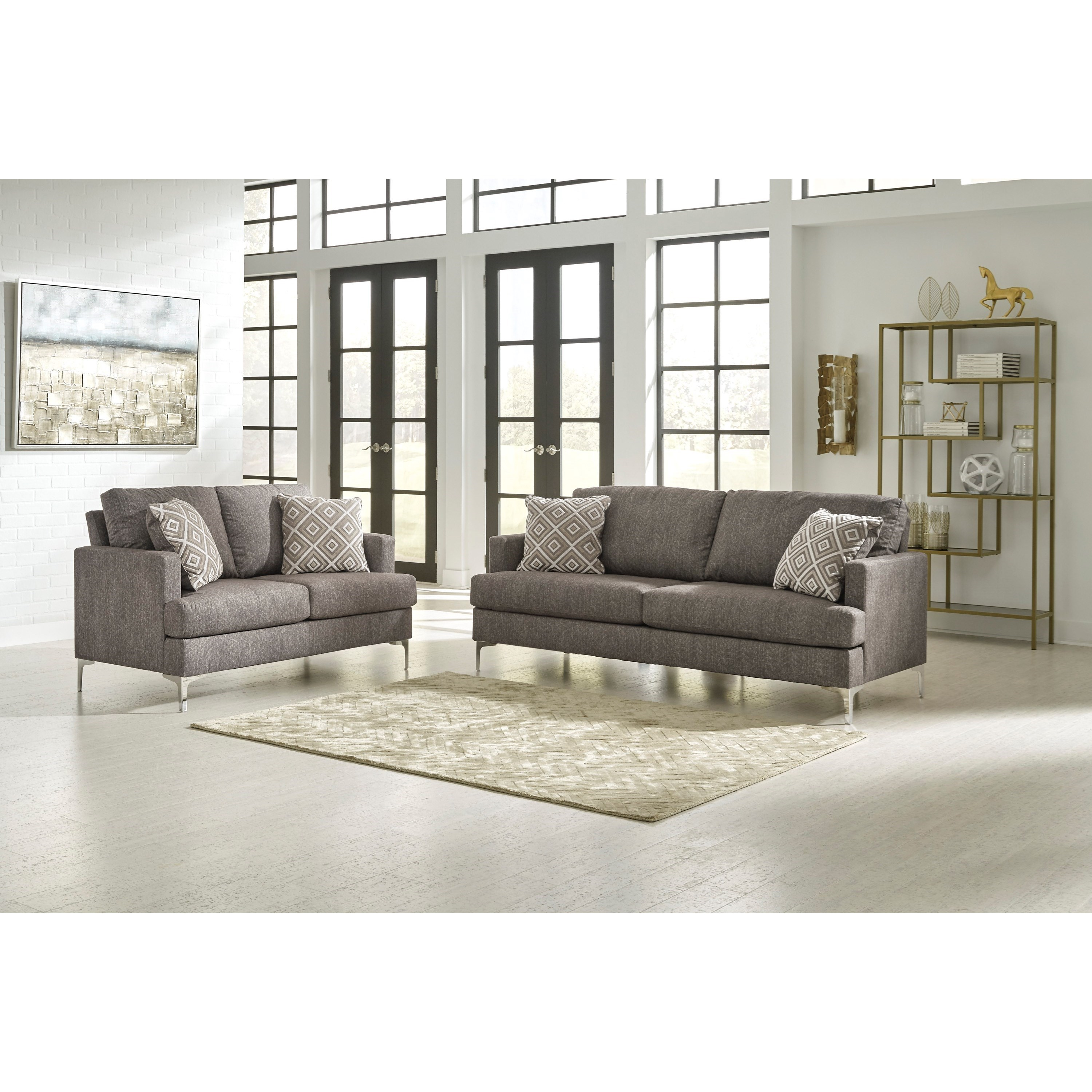 Arcola Stationary Living Room Group by Signature Design by Ashley at Beds N Stuff
