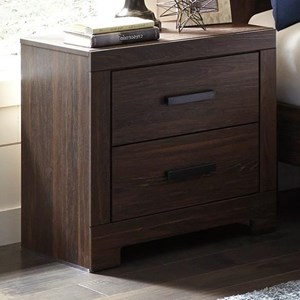 Signature Design by Ashley Arkaline Two Drawer Night Stand