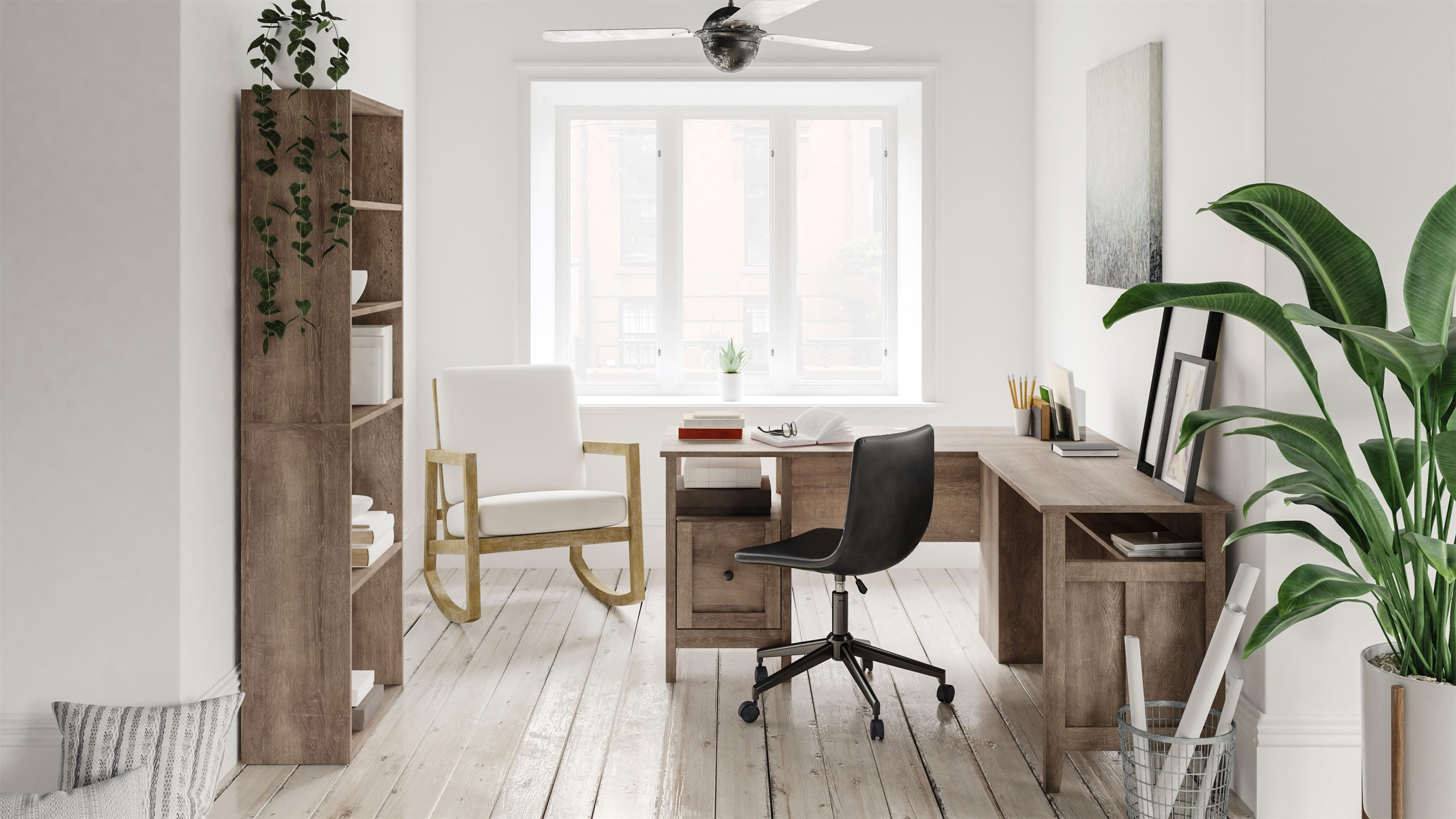 4 Piece Home Office Set