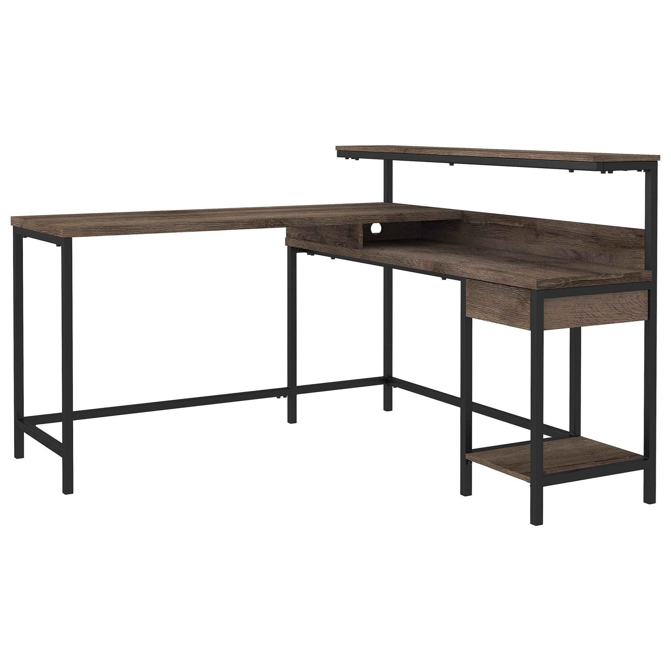 Arlenbry L-Desk with Storage by Ashley (Signature Design) at Johnny Janosik
