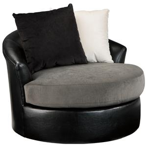 Signature Design by Ashley Armant Swivel Accent Chair