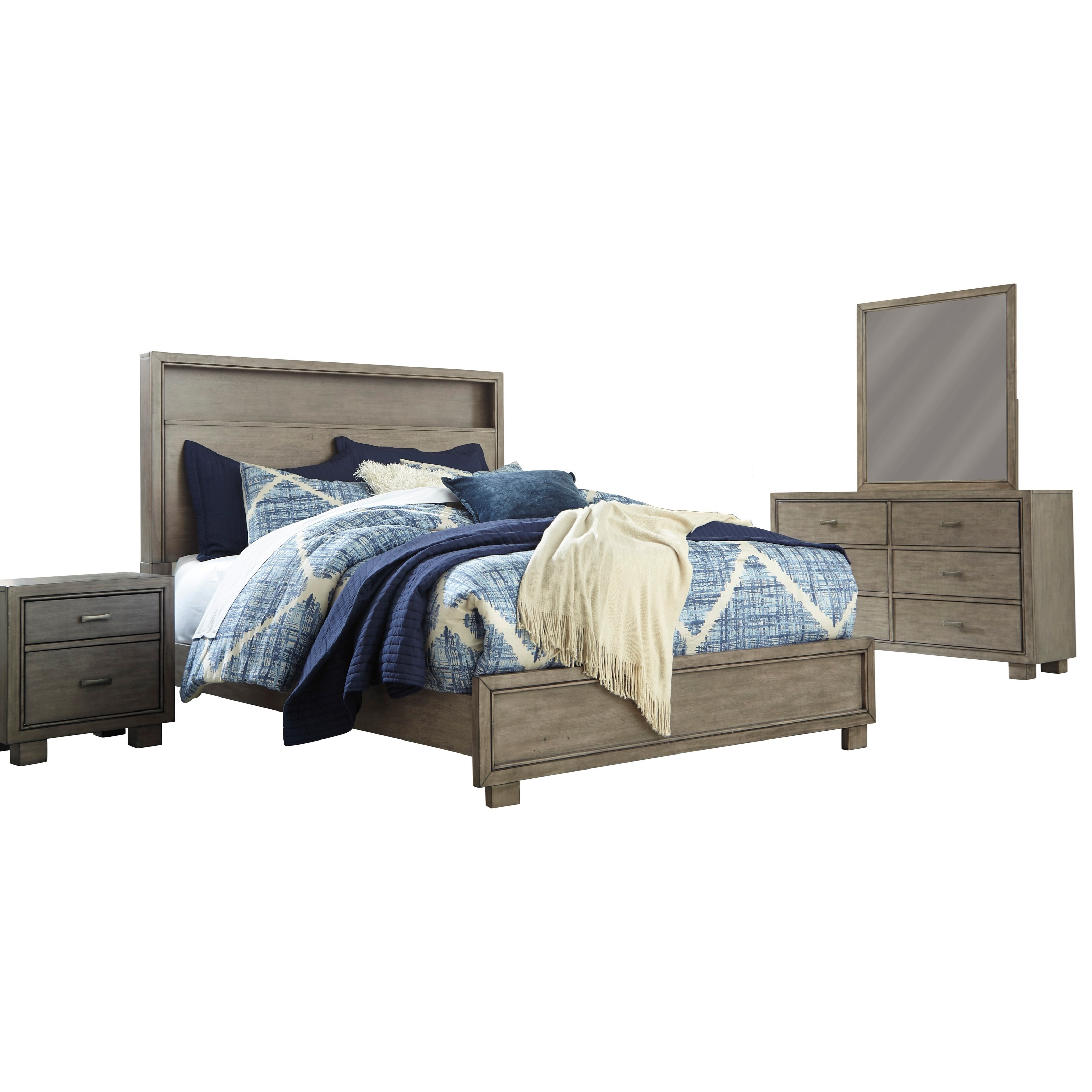 Arnett Queen Bedroom Group by Signature Design by Ashley at Furniture and ApplianceMart