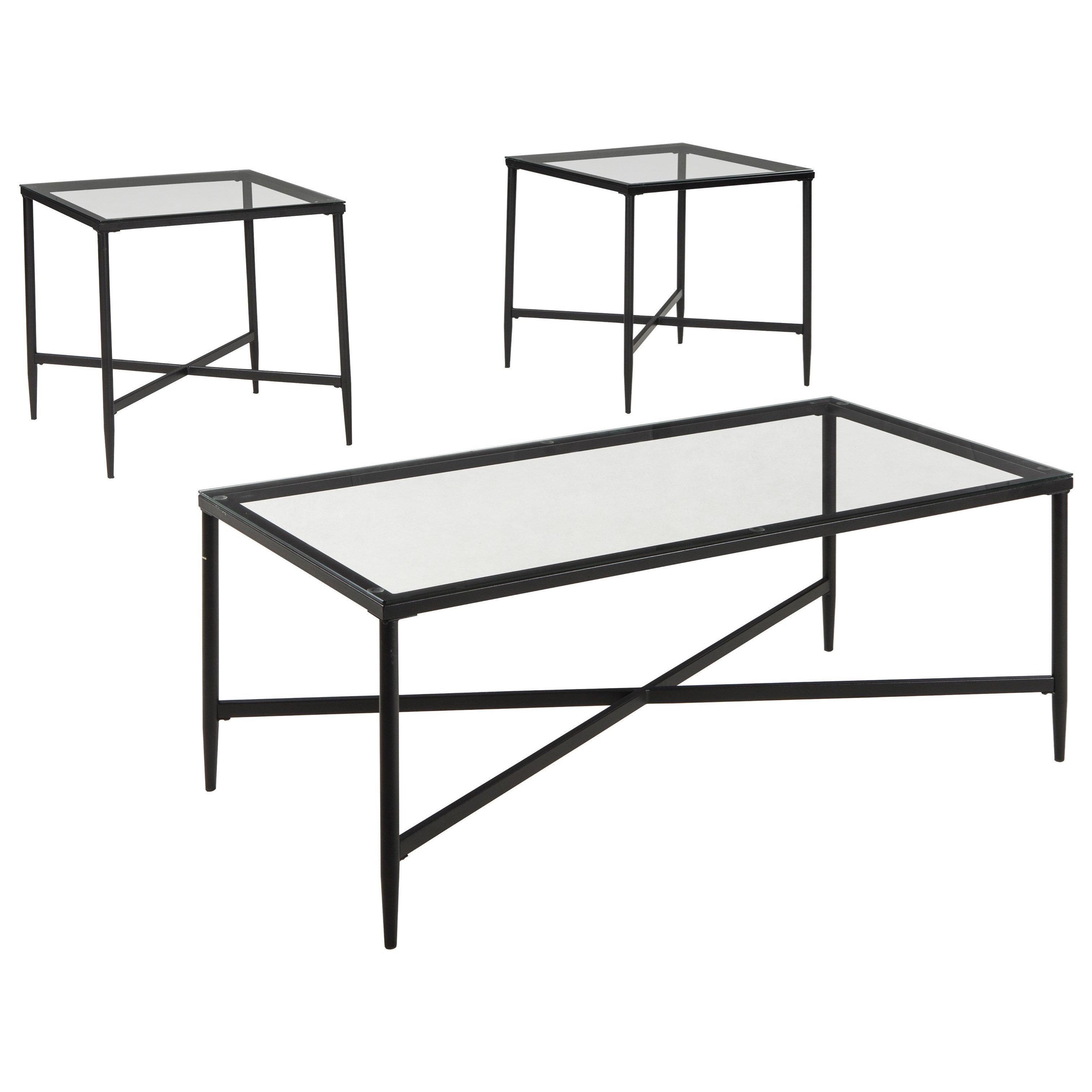 Augeron Occasional Table Set by Signature Design by Ashley at Standard Furniture