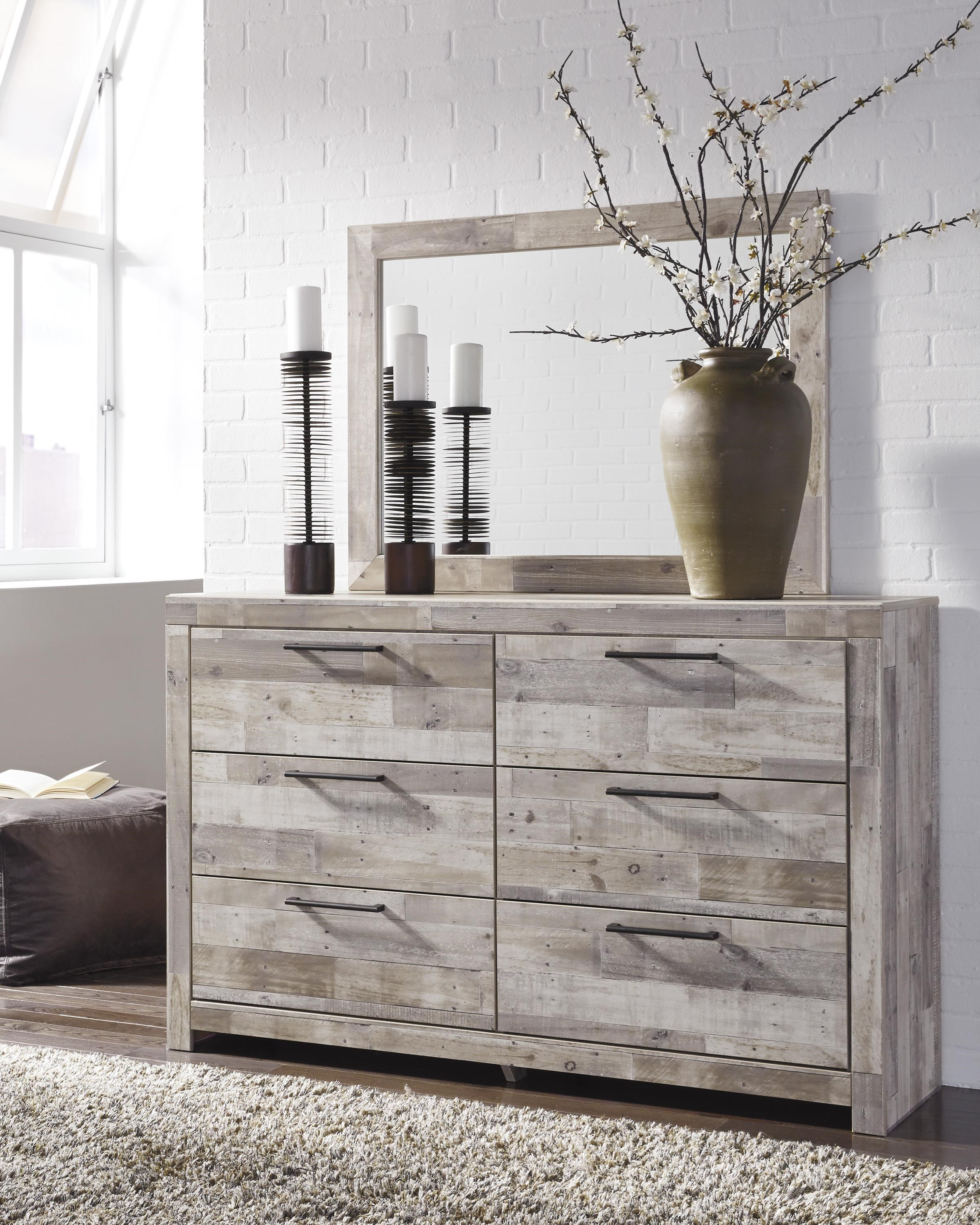 Effie Dresser & Mirror by Signature Design by Ashley at Furniture and ApplianceMart