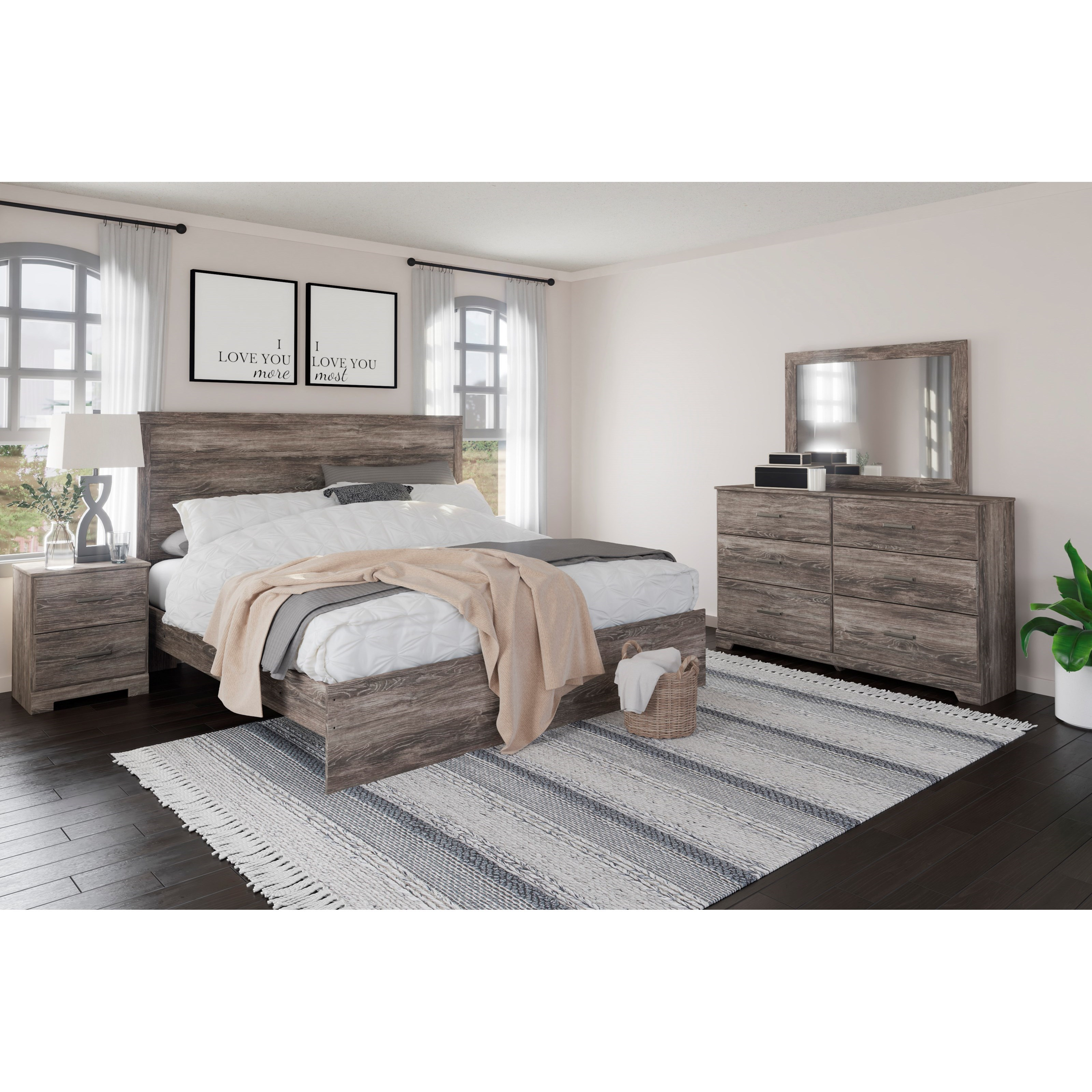 Ralinski King Bedroom Group by Ashley (Signature Design) at Johnny Janosik