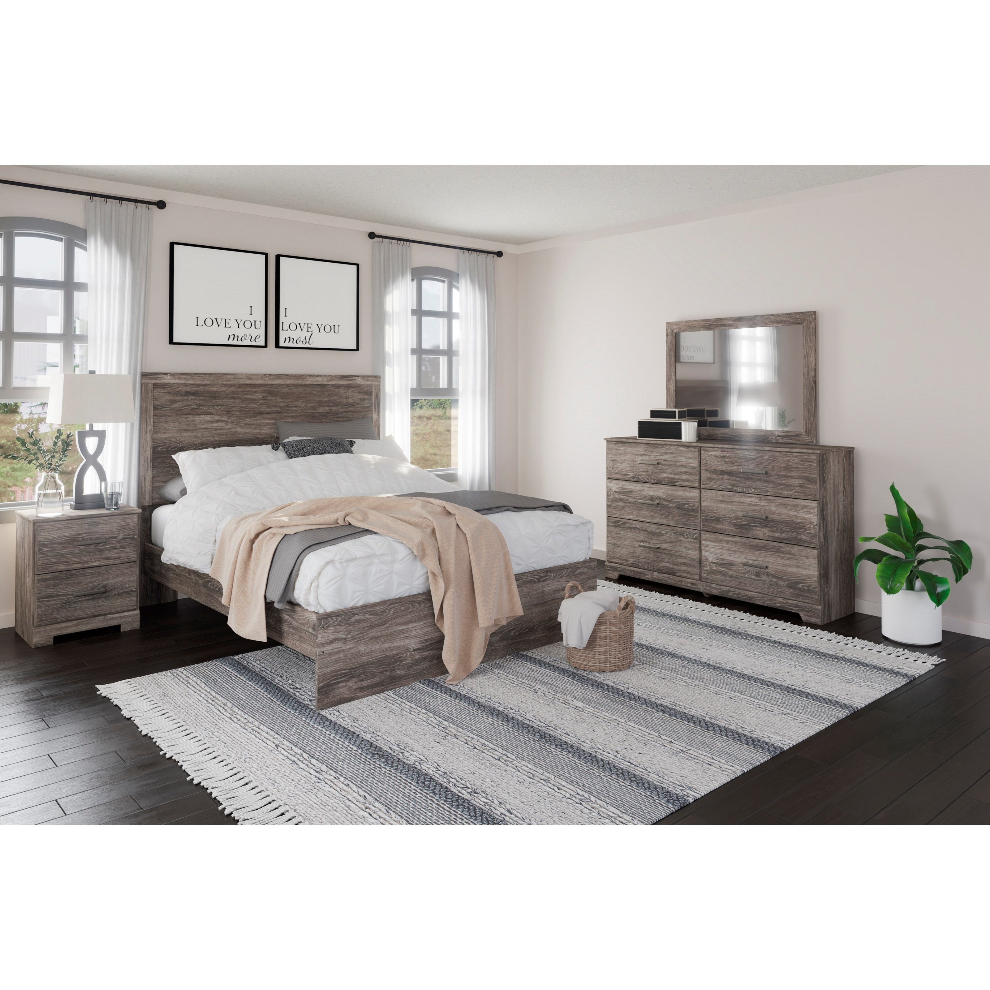 Ralinski Queen Bedroom Group by Signature Design by Ashley at Standard Furniture