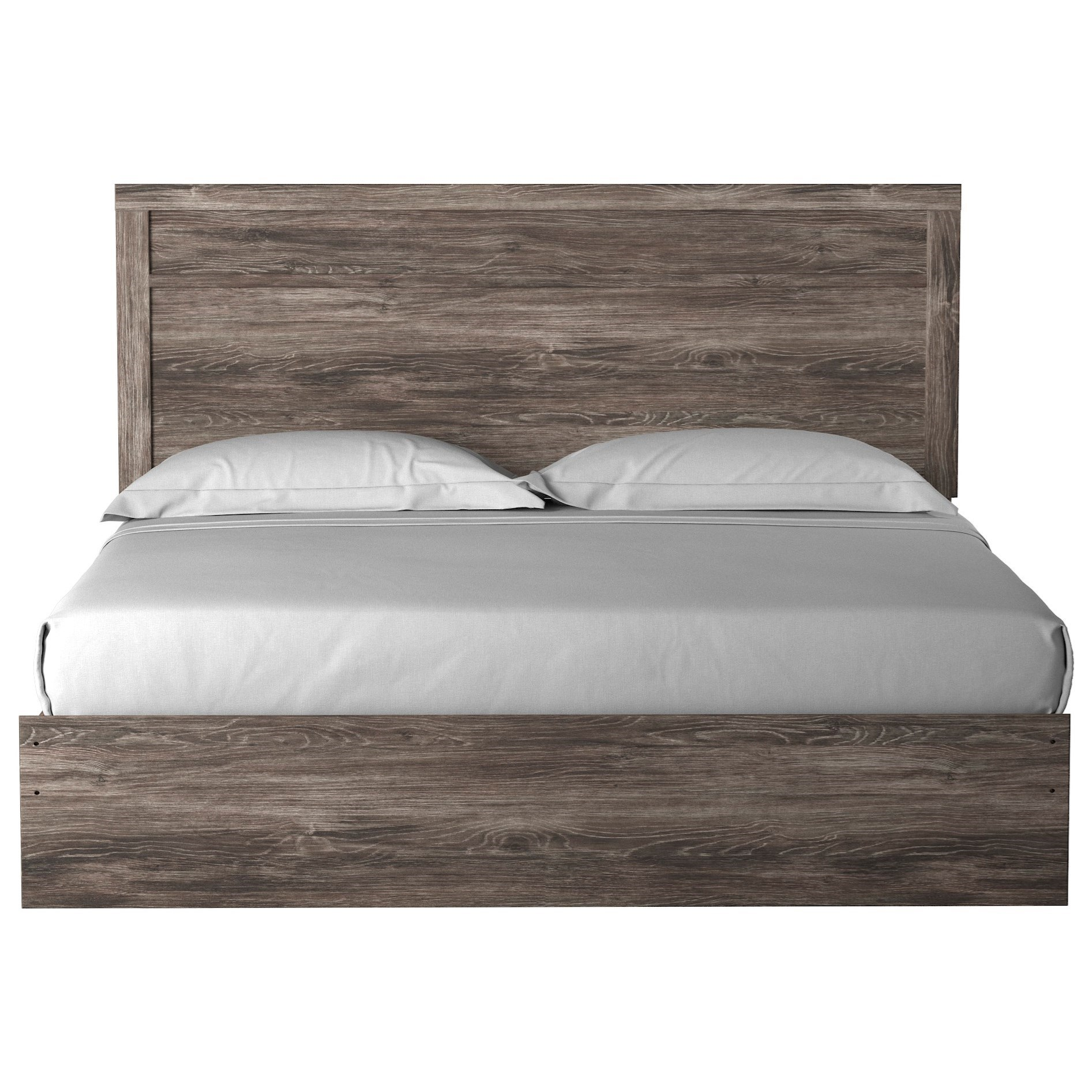Ralinski King Panel Bed by Signature Design by Ashley at Lapeer Furniture & Mattress Center