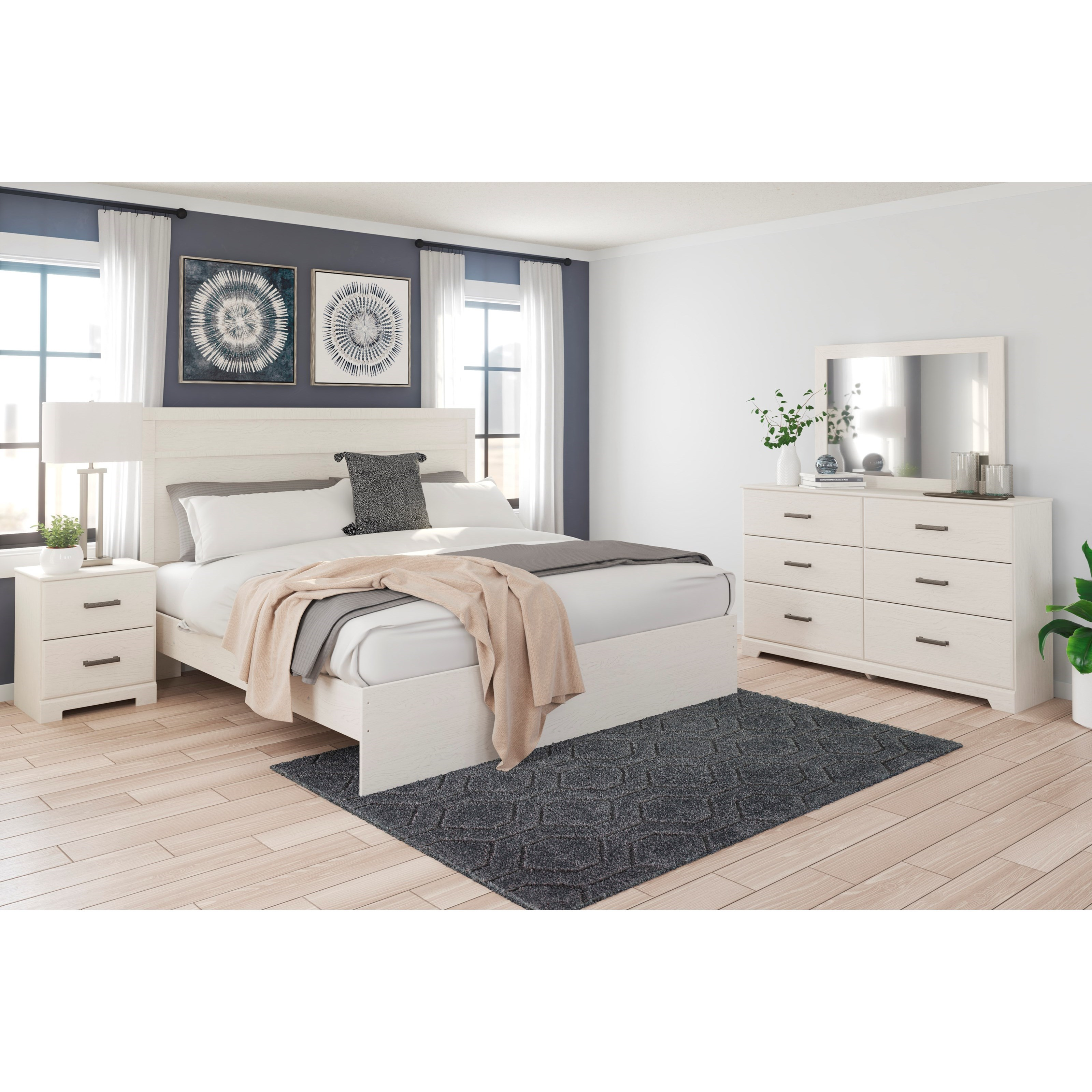 Stelsie King Bedroom Group by Ashley Signature Design at Rooms and Rest