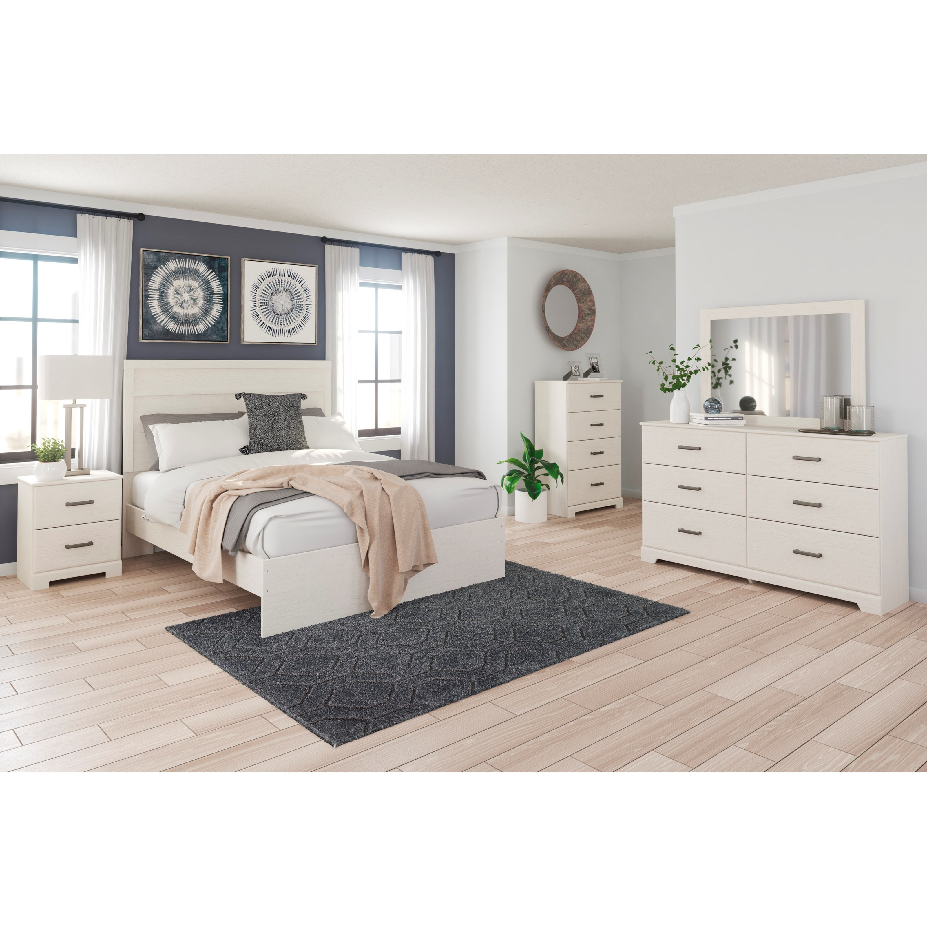 Stelsie Queen Bedroom Group by Signature Design by Ashley at Standard Furniture