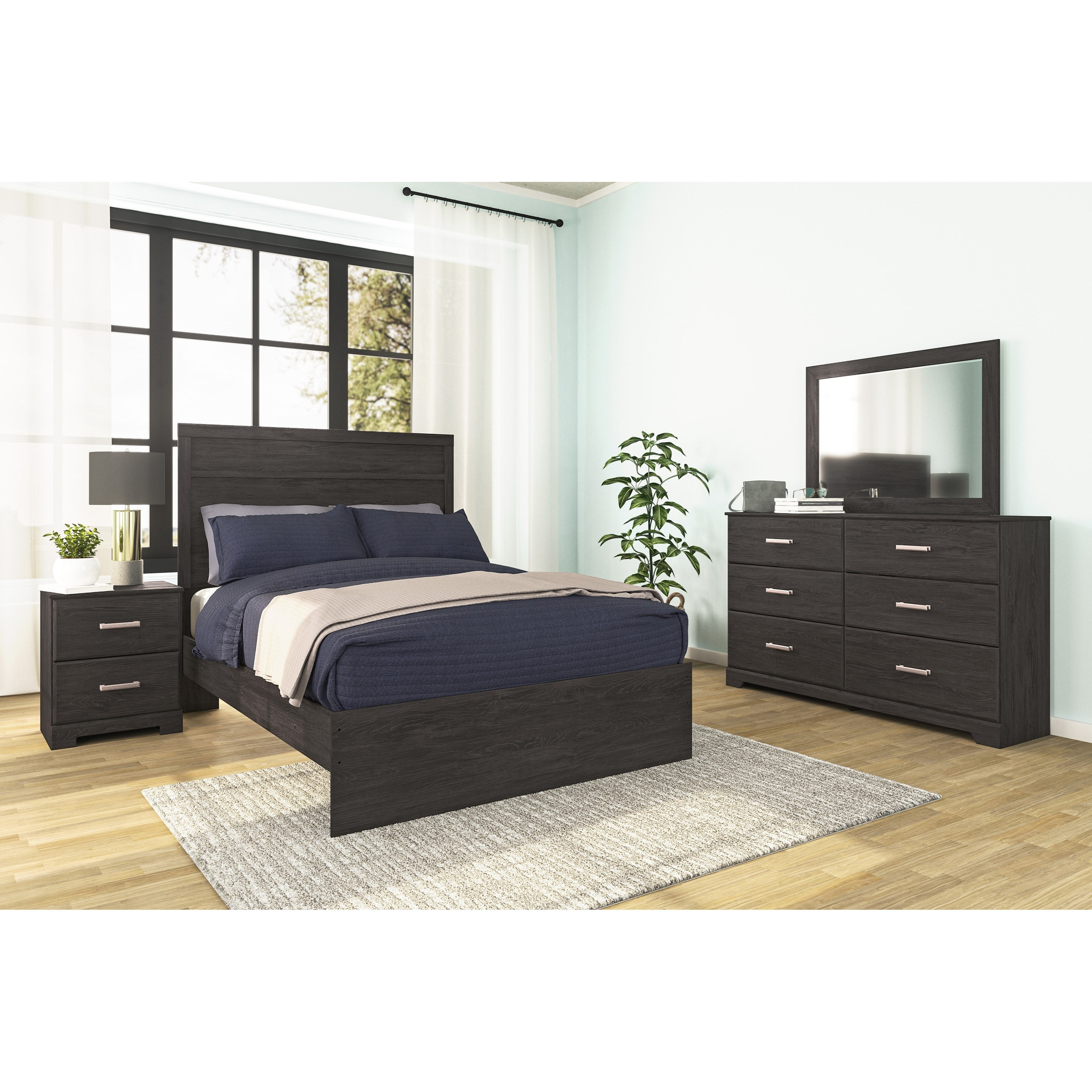 Belachime Full Bedroom Group by Signature Design by Ashley at Lapeer Furniture & Mattress Center