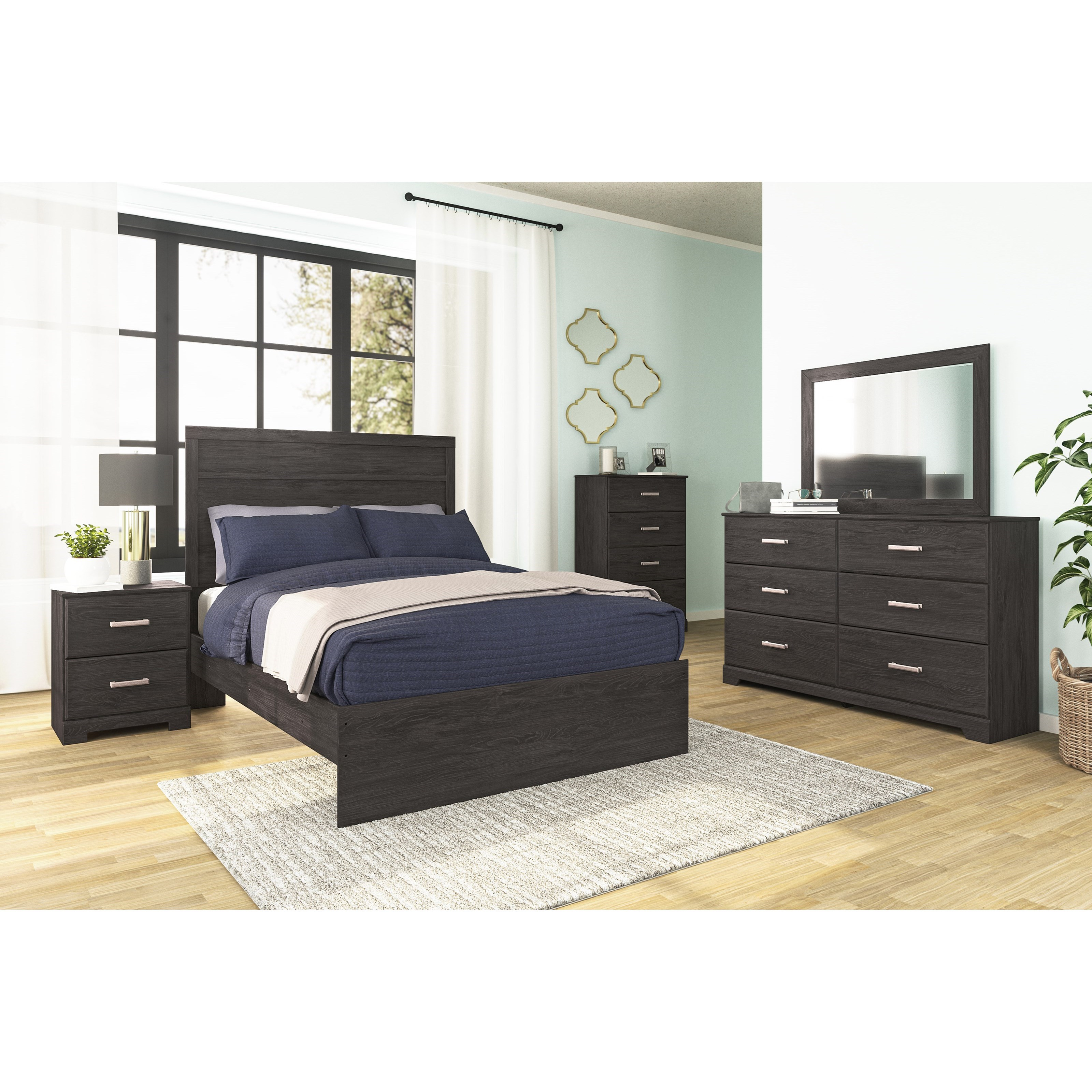 Belachime Full Bedroom Group by Signature Design by Ashley at Household Furniture