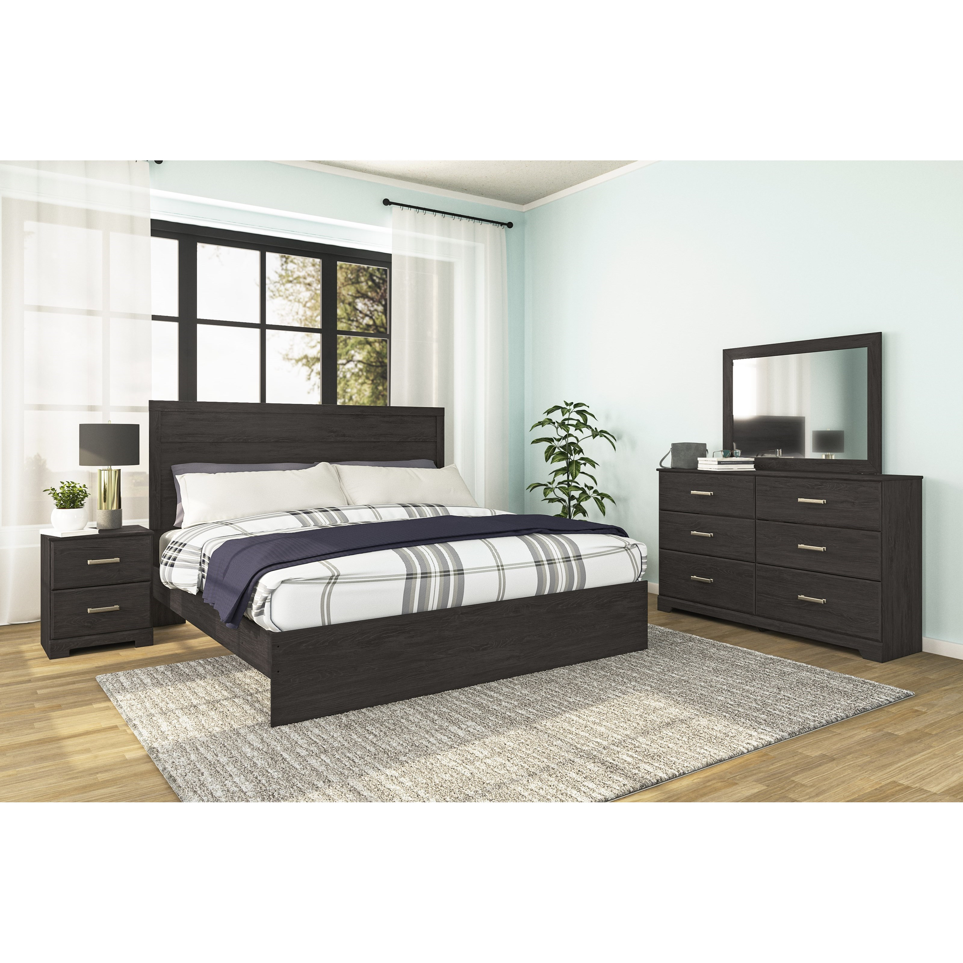 Belachime King Bedroom Group by Signature Design by Ashley at Household Furniture