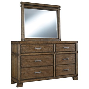 Signature Design by Ashley Leystone Dresser with Mirror