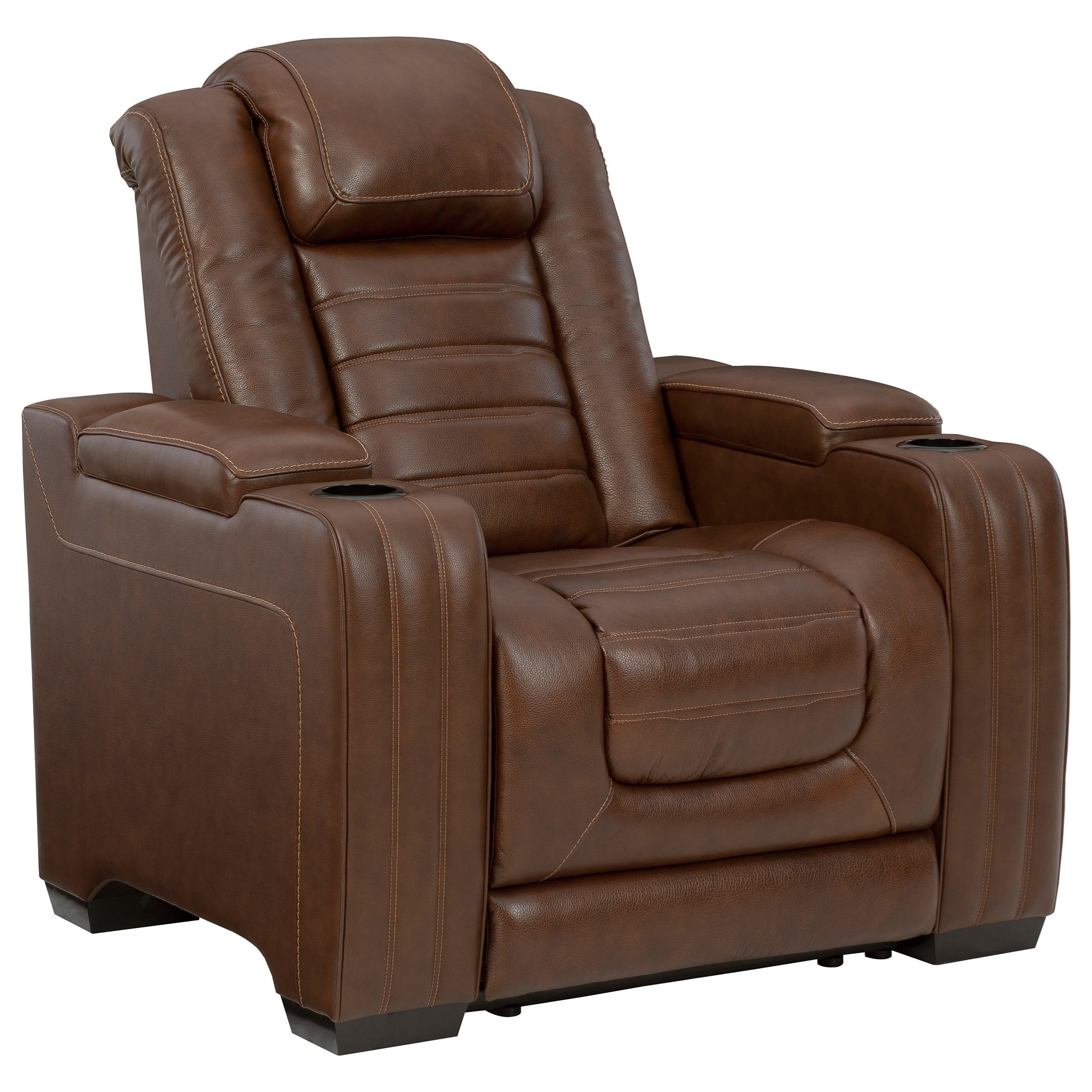 Backtrack Power Recliner w/ Adjustable Headrest by Signature Design by Ashley at Sparks HomeStore