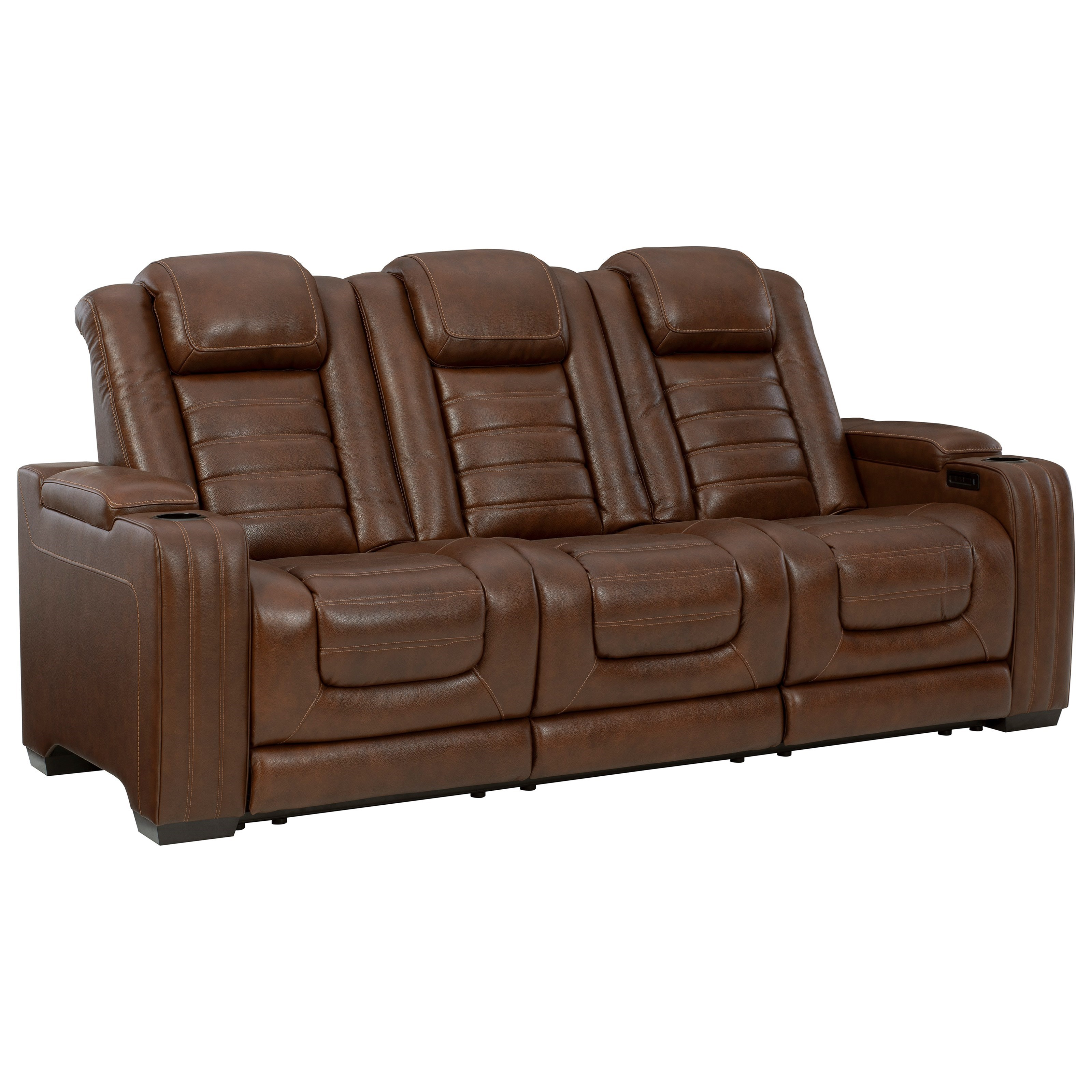 Backtrack Power Reclining Sofa by Signature Design by Ashley at Beck's Furniture