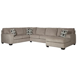 3 Piece Sectional with Chaise