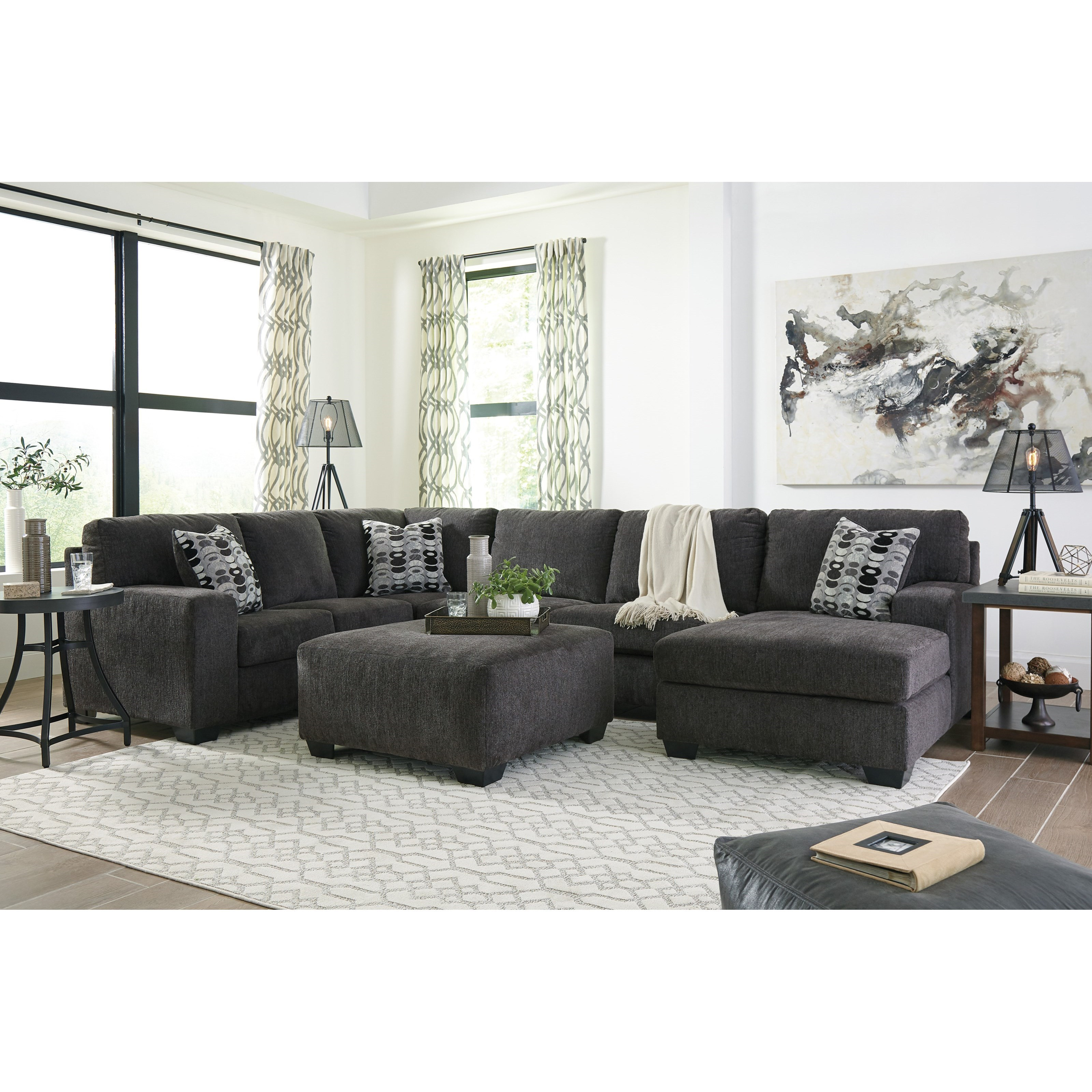 Ballinasloe Stationary Living Room Group by Signature Design by Ashley at Sparks HomeStore