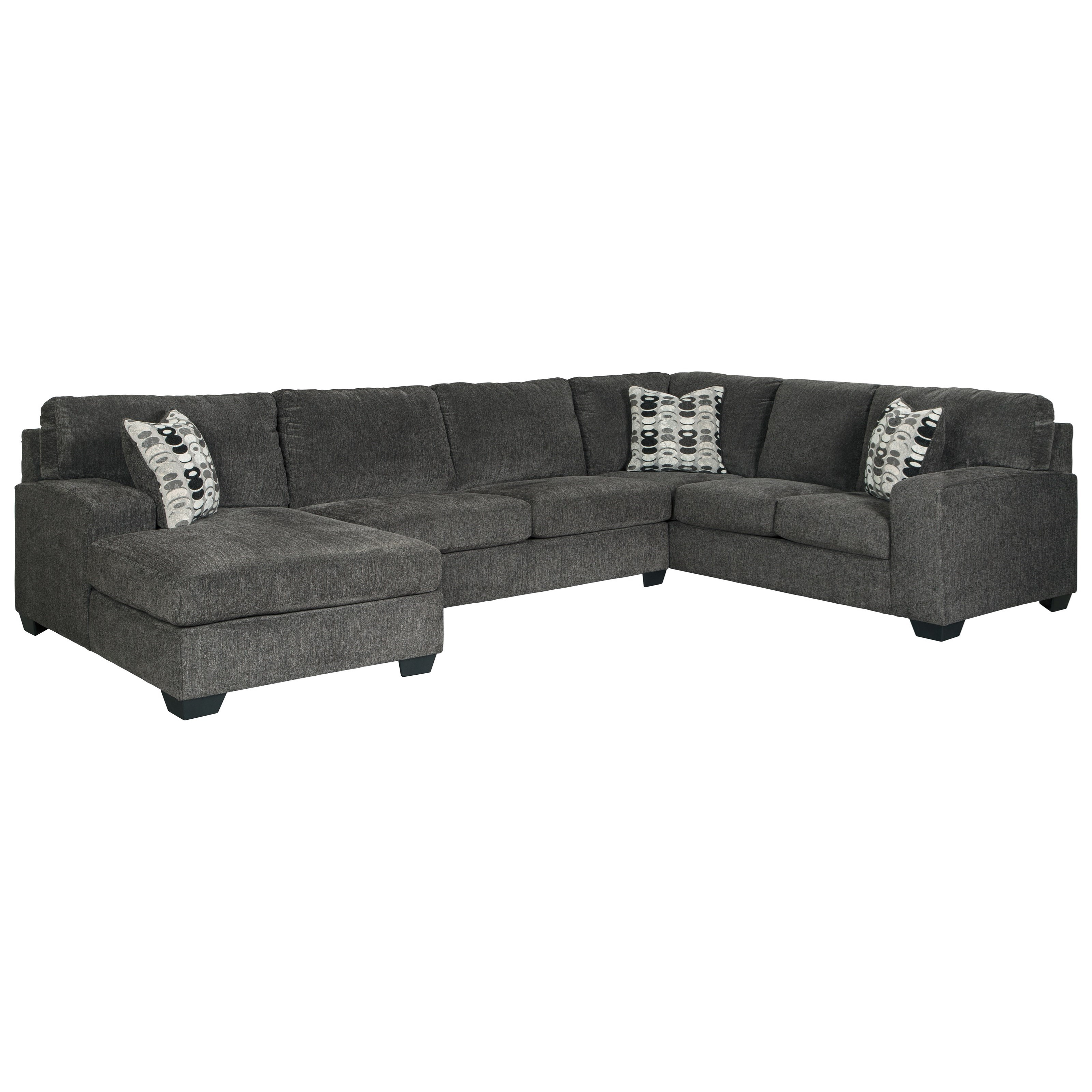 Ballinasloe 3-Piece Sectional by Signature Design by Ashley at Beck's Furniture