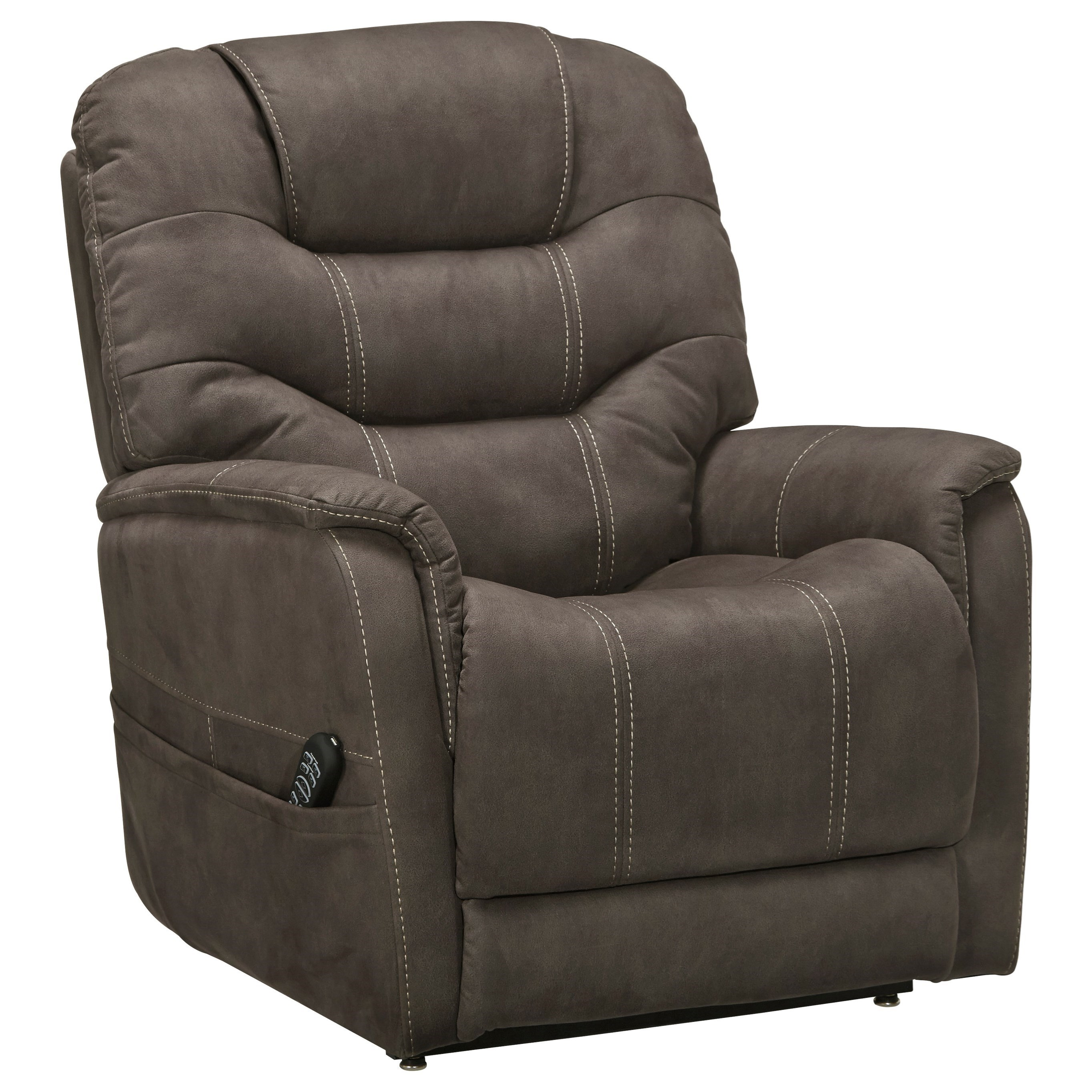 Ballister Power Lift Recliner by Signature Design by Ashley at Beck's Furniture