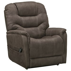 Power Lift Recliner with Power Adjustable Lumbar and Headrest