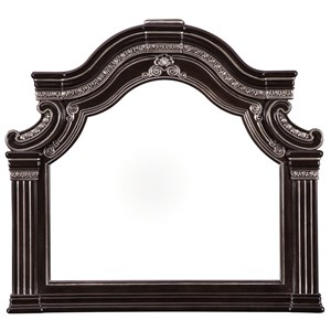 Traditional Bedroom Mirror