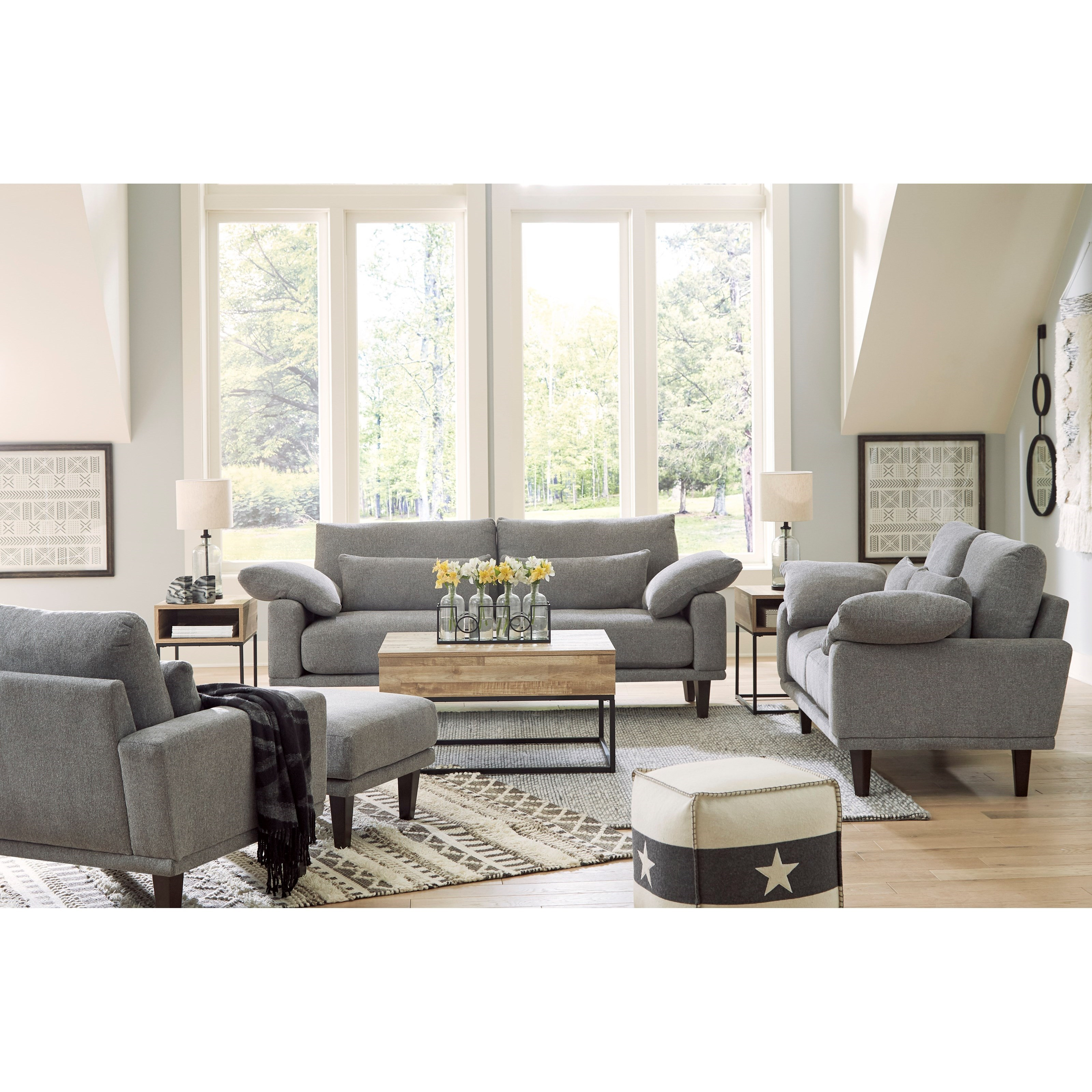 Baneway Stationary Living Room Group by Signature Design by Ashley at Wilson's Furniture