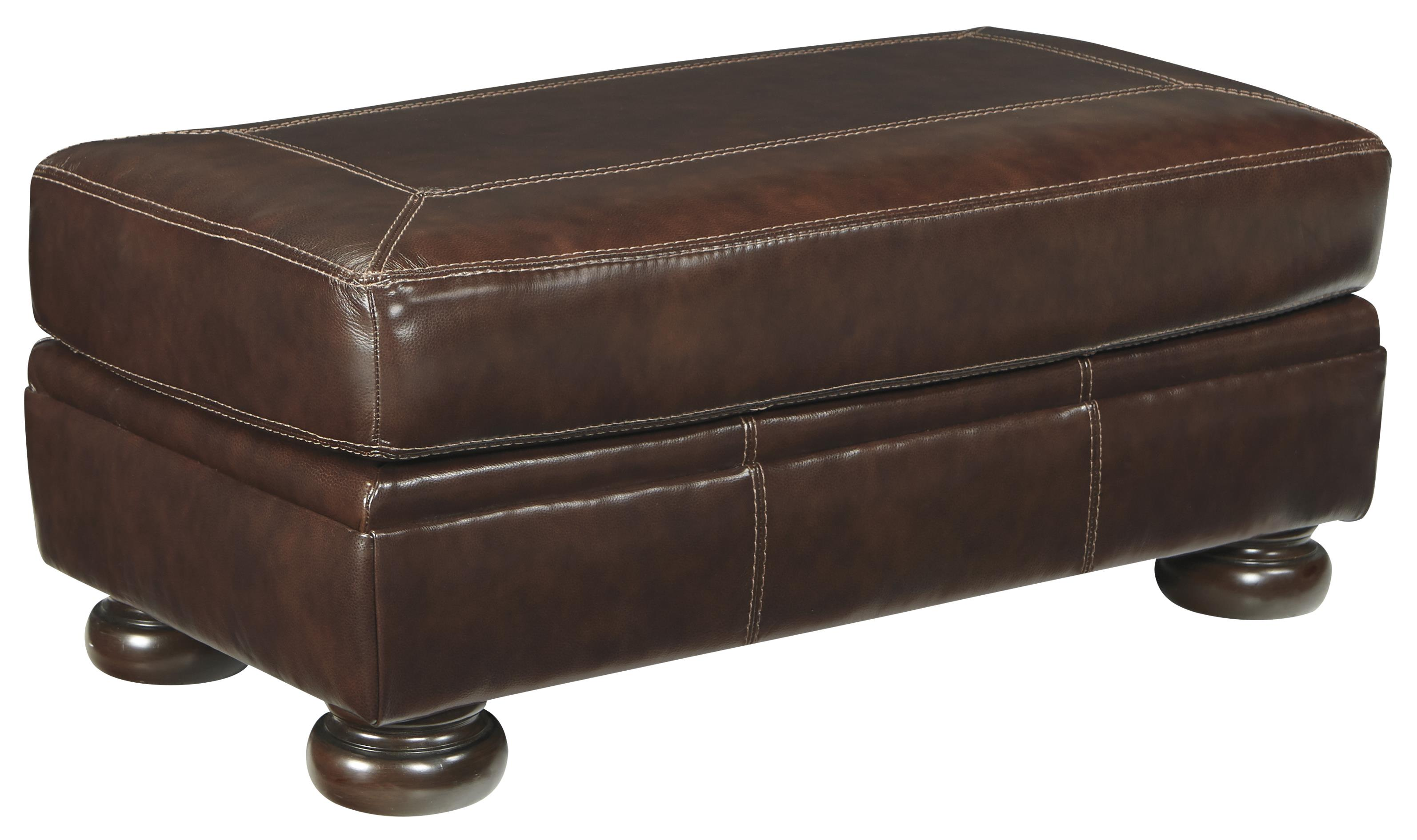 Banner Ottoman by Signature Design by Ashley at Lapeer Furniture & Mattress Center