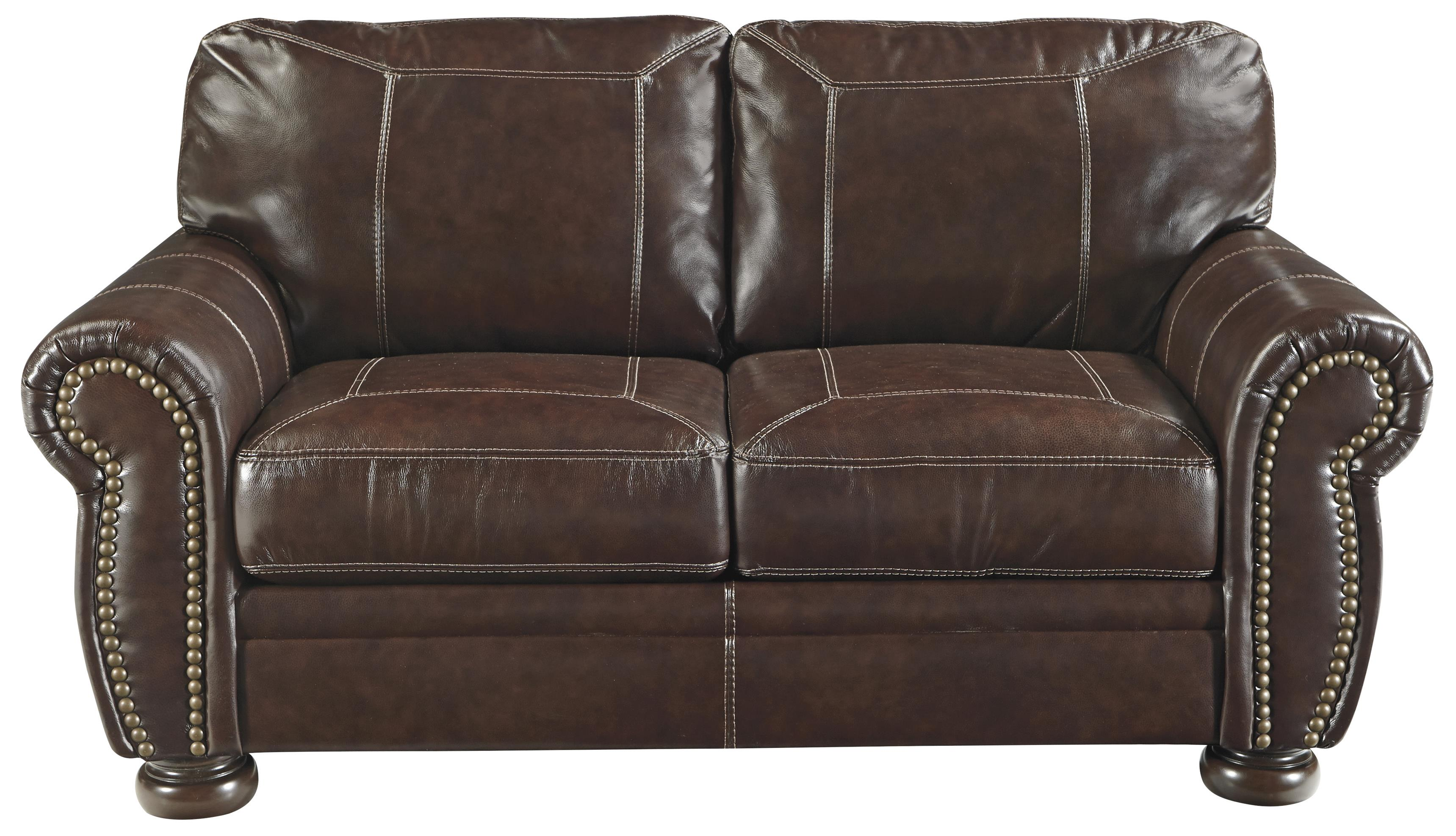 Banner Loveseat by Signature at Walker's Furniture