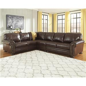 Signature Design by Ashley Banner 3-Piece Sectional