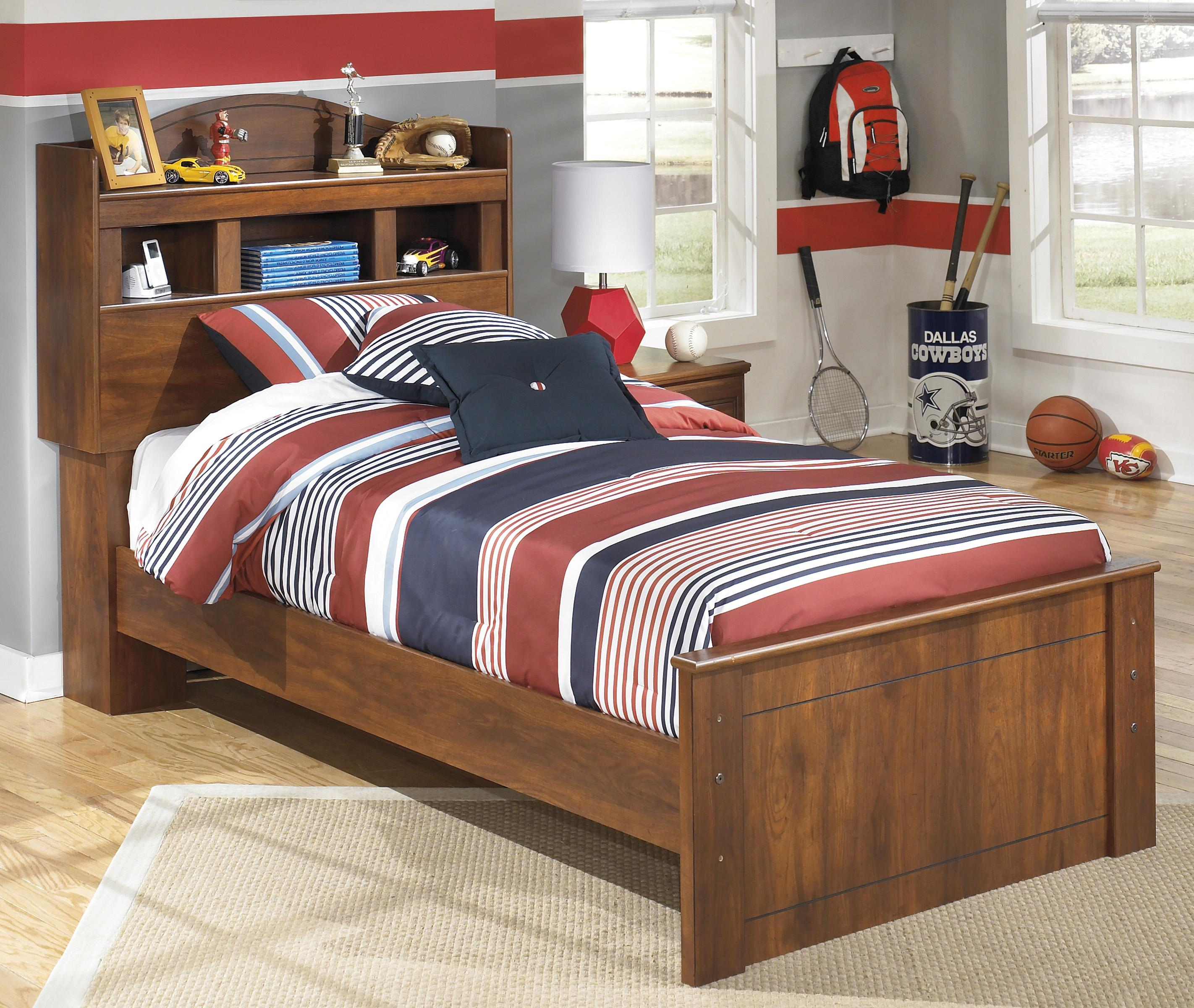 Barchan Twin Bookcase Bed by Signature Design by Ashley at Zak's Warehouse Clearance Center