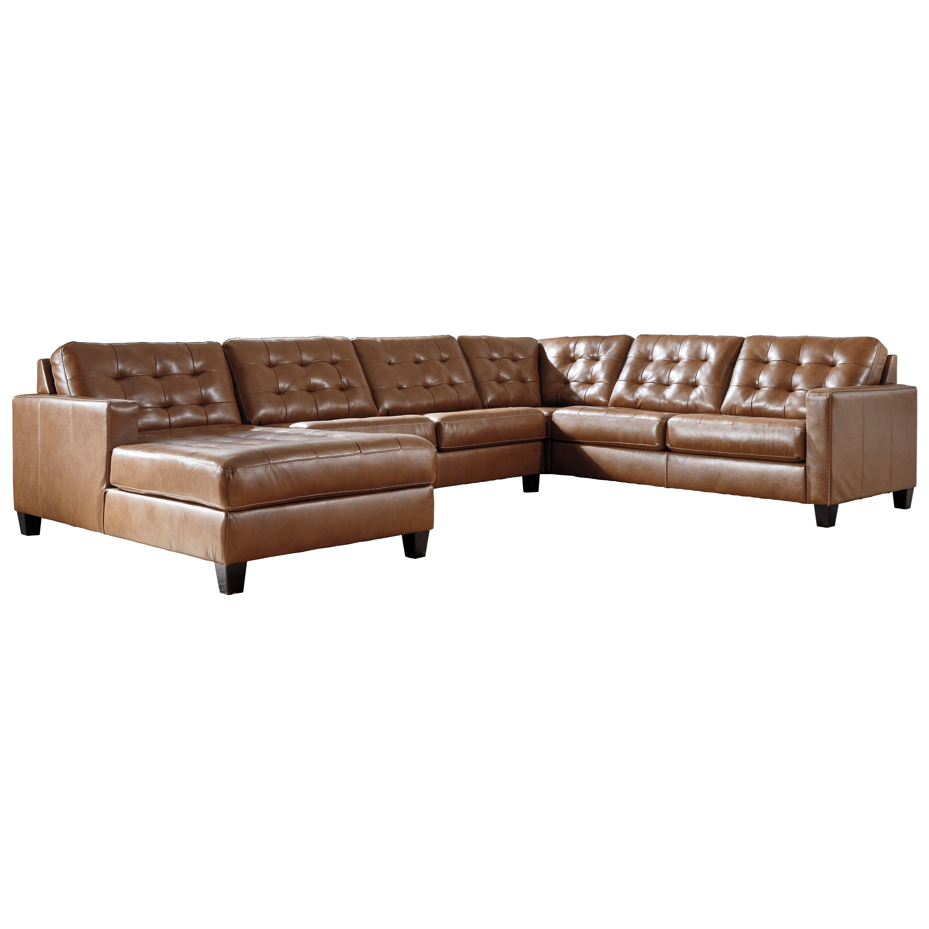 Baskove 4-Piece Sectional by Signature Design by Ashley at Zak's Warehouse Clearance Center