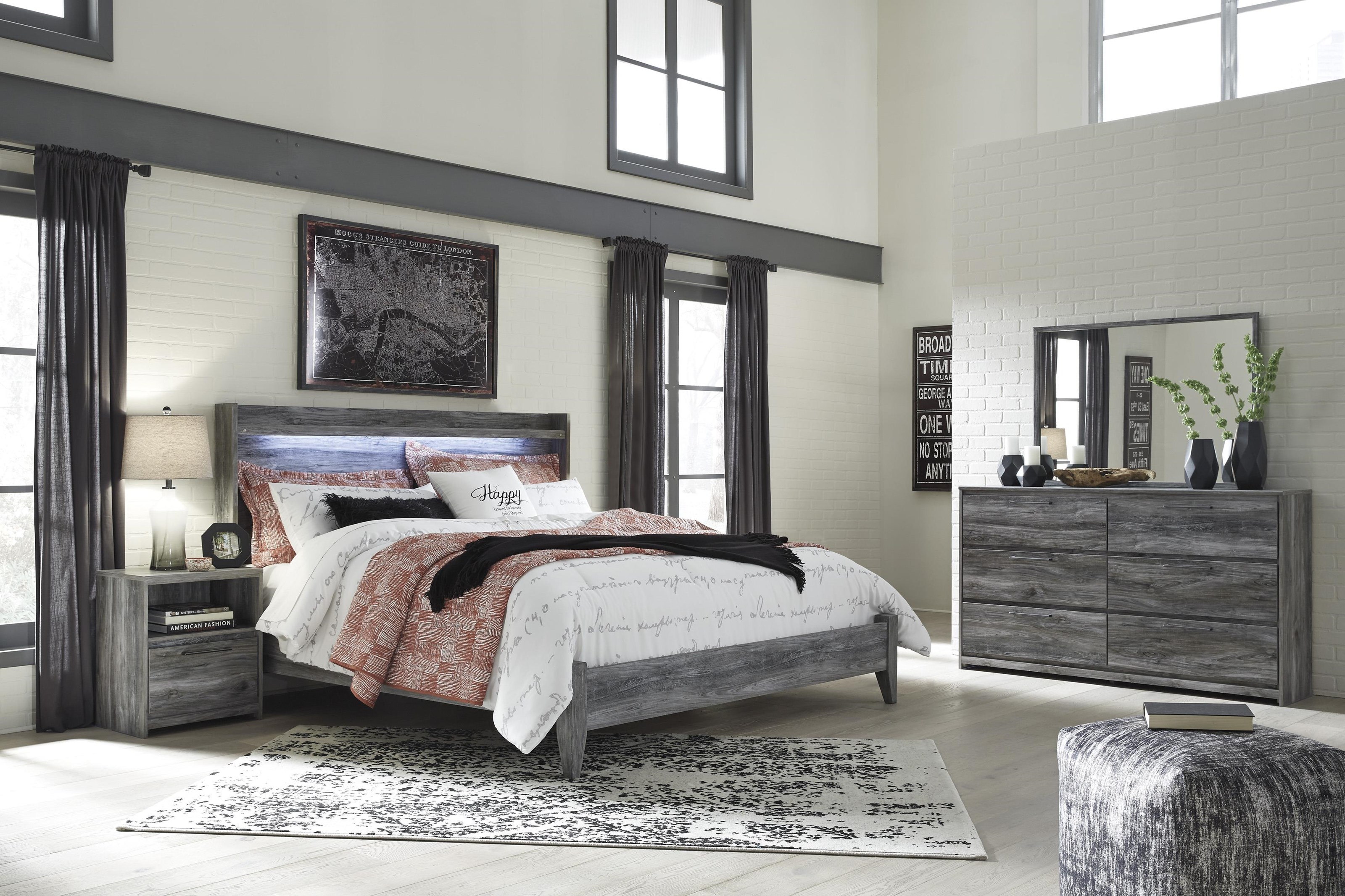 Baystorm 5PC King Bedroom Group by Signature Design by Ashley at Value City Furniture