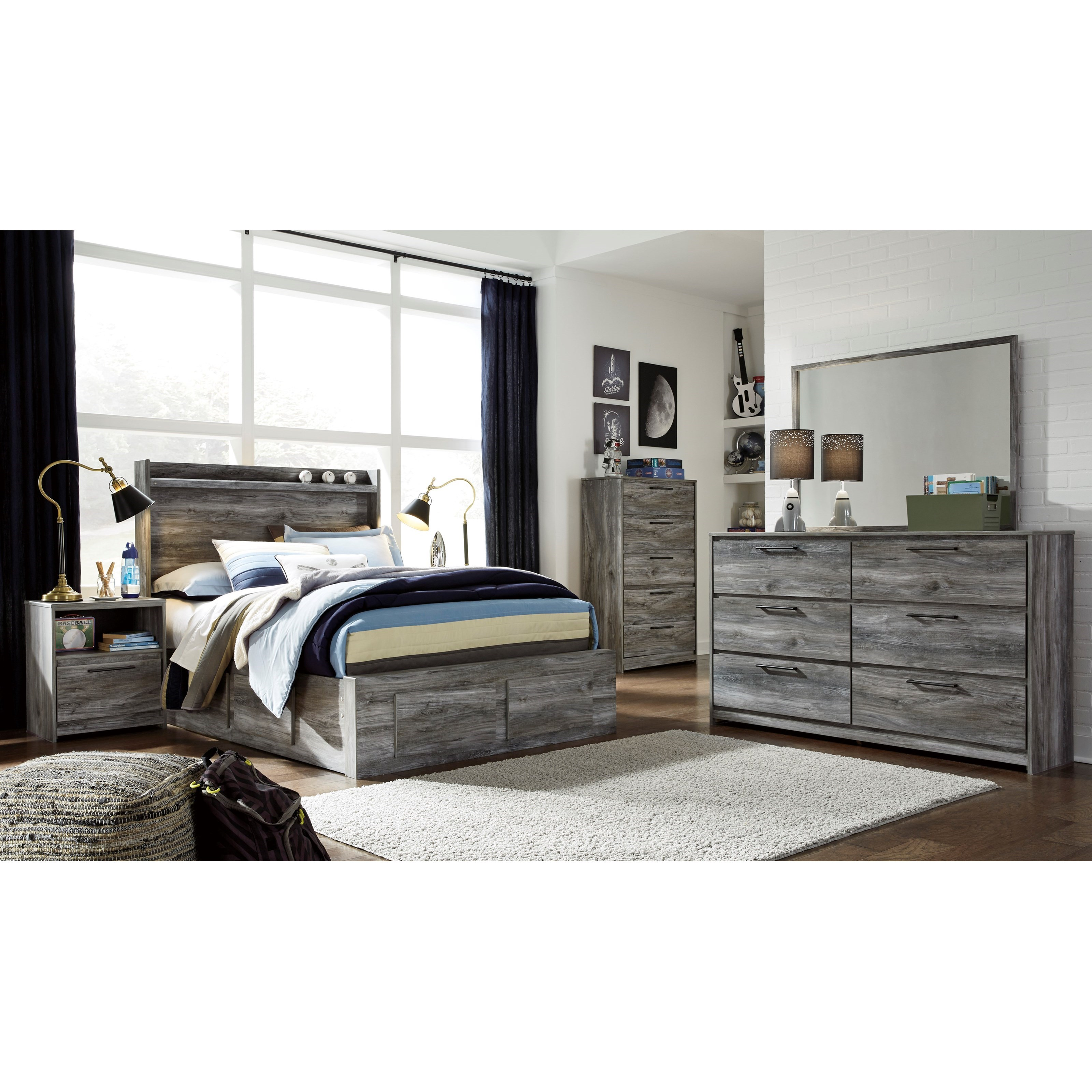 Baystorm Full Bedroom Group by Signature Design by Ashley at Zak's Warehouse Clearance Center