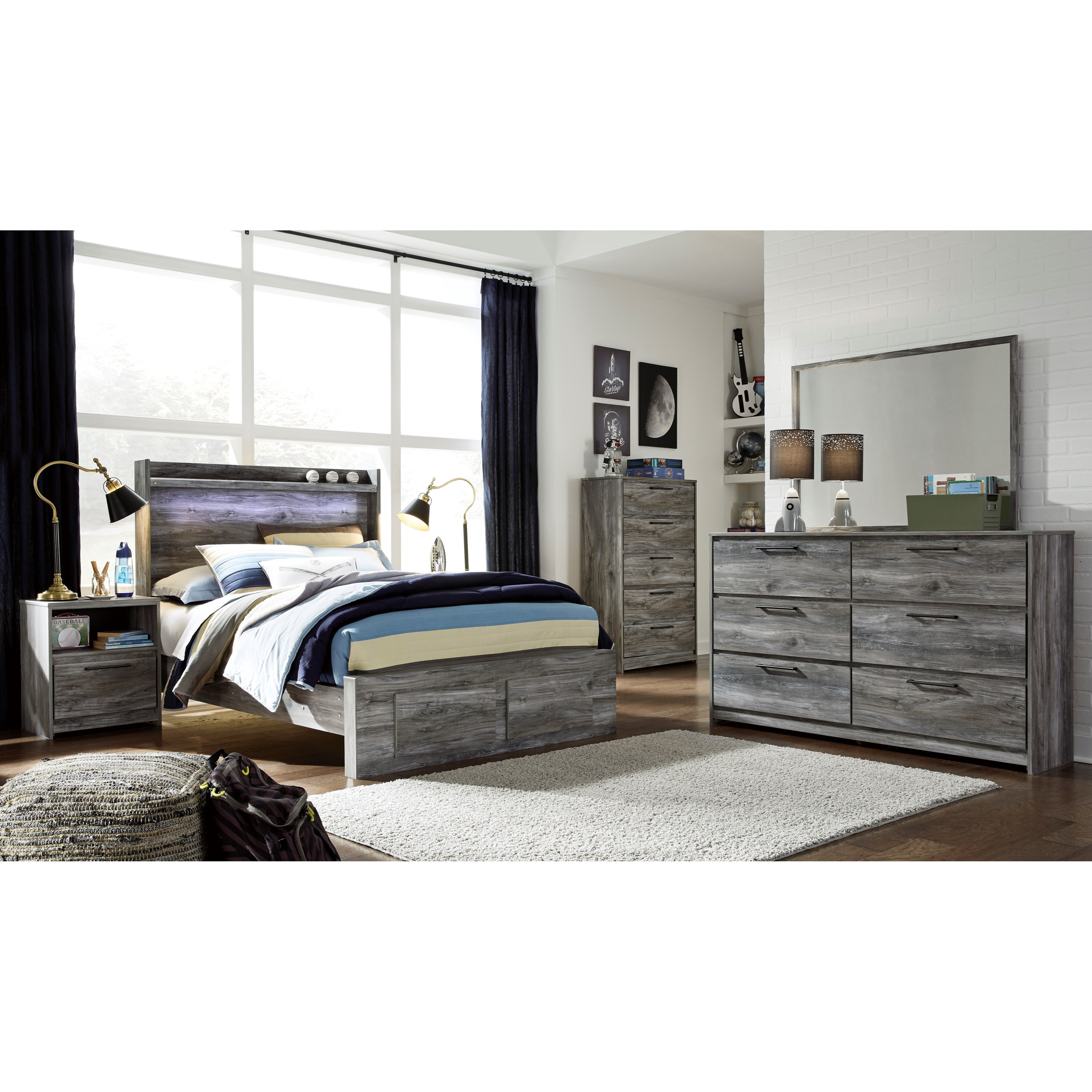 Baystorm Full Bedroom Group by Signature Design by Ashley at Sparks HomeStore