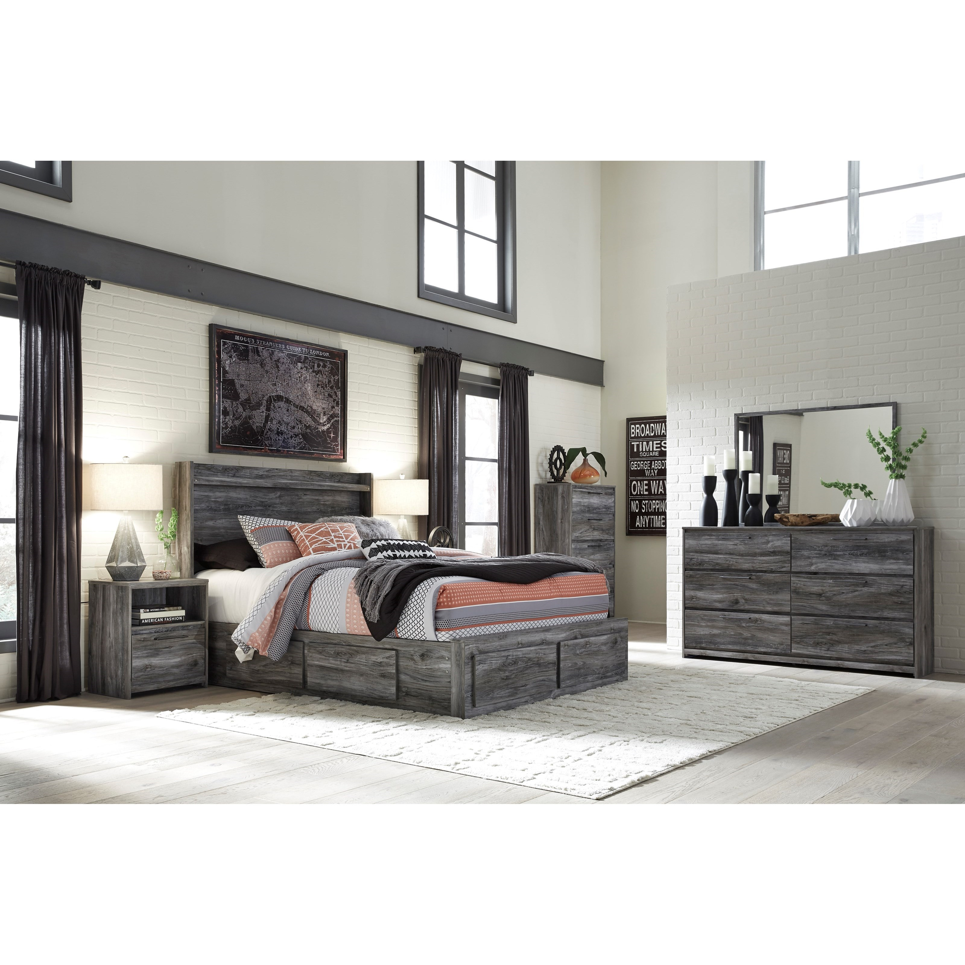 Baystorm King Bedroom Group by Signature Design by Ashley at Zak's Warehouse Clearance Center