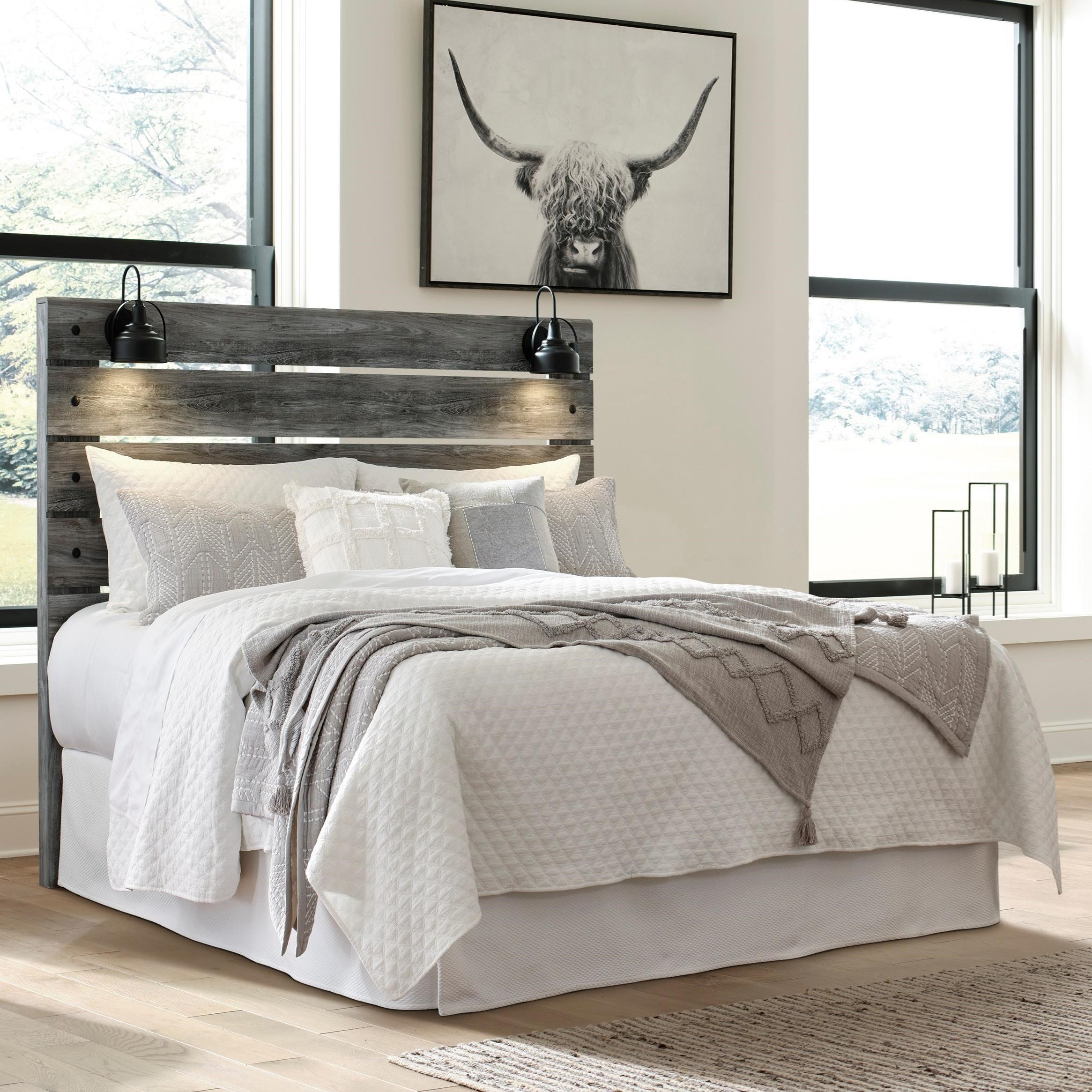 Baystorm Queen Panel Headboard by Signature Design by Ashley at Standard Furniture