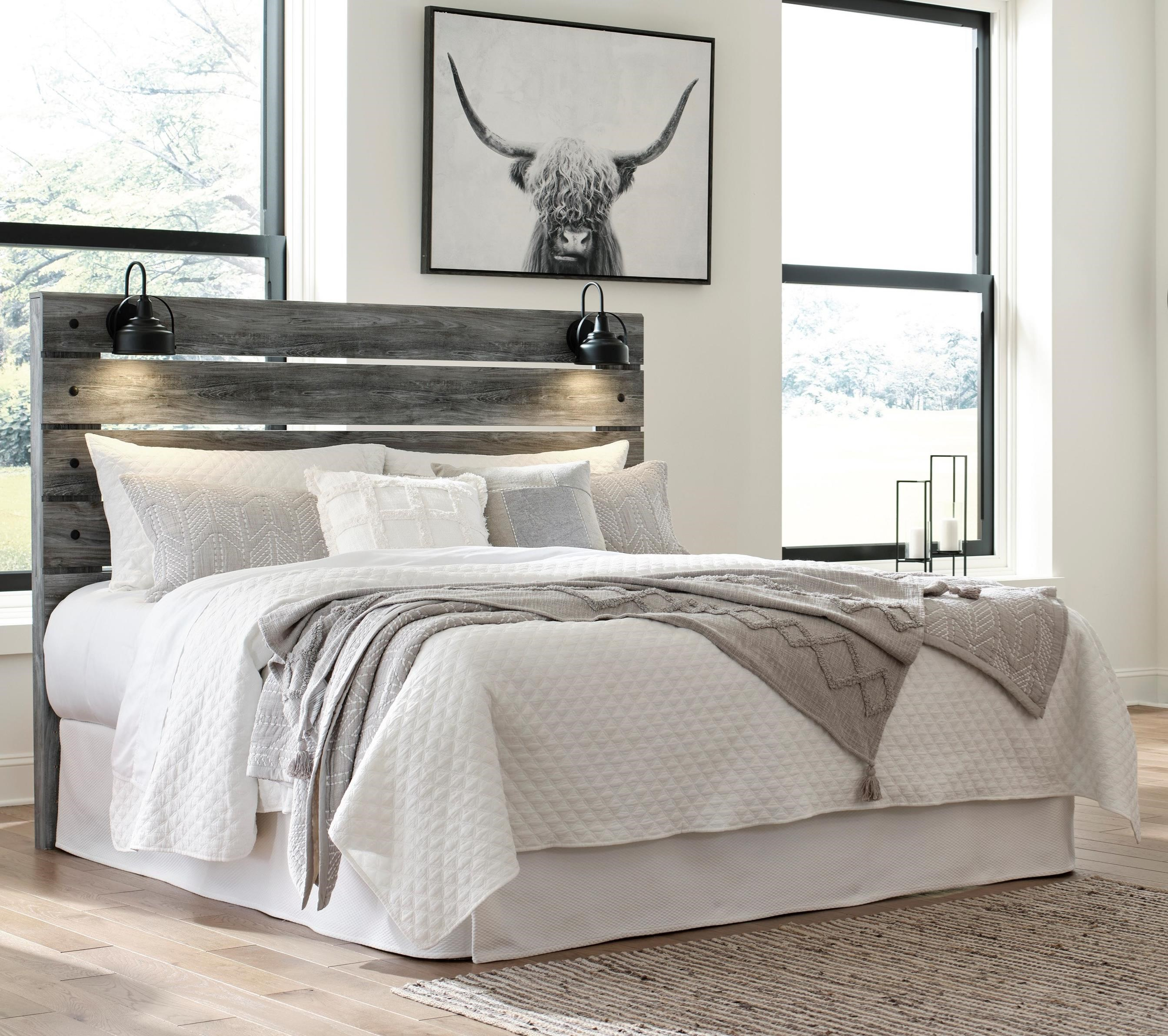 Baystorm King Panel Headboard by Signature Design by Ashley at Zak's Home Outlet