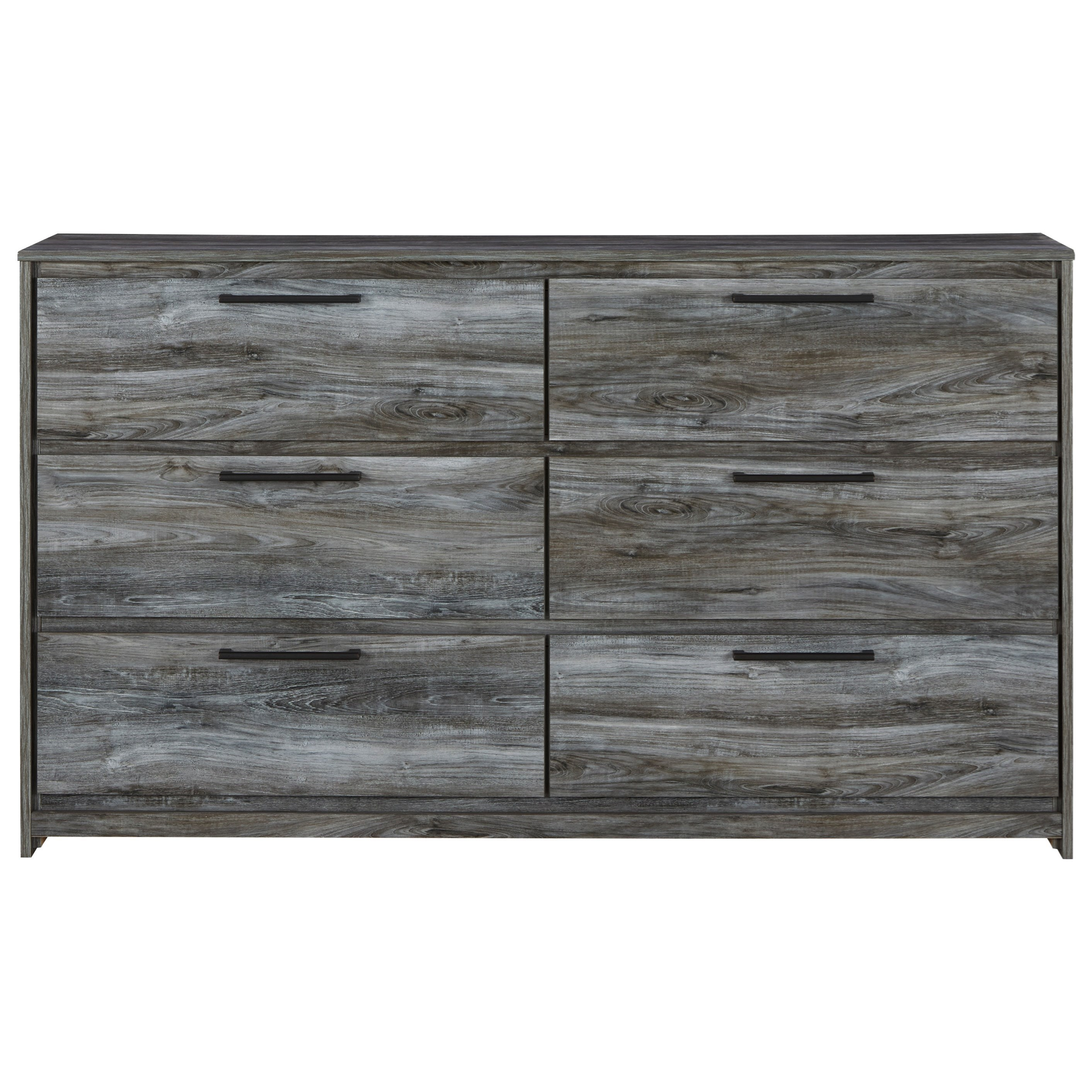 Baystorm 6 Drawer Dresser by Signature Design by Ashley at HomeWorld Furniture