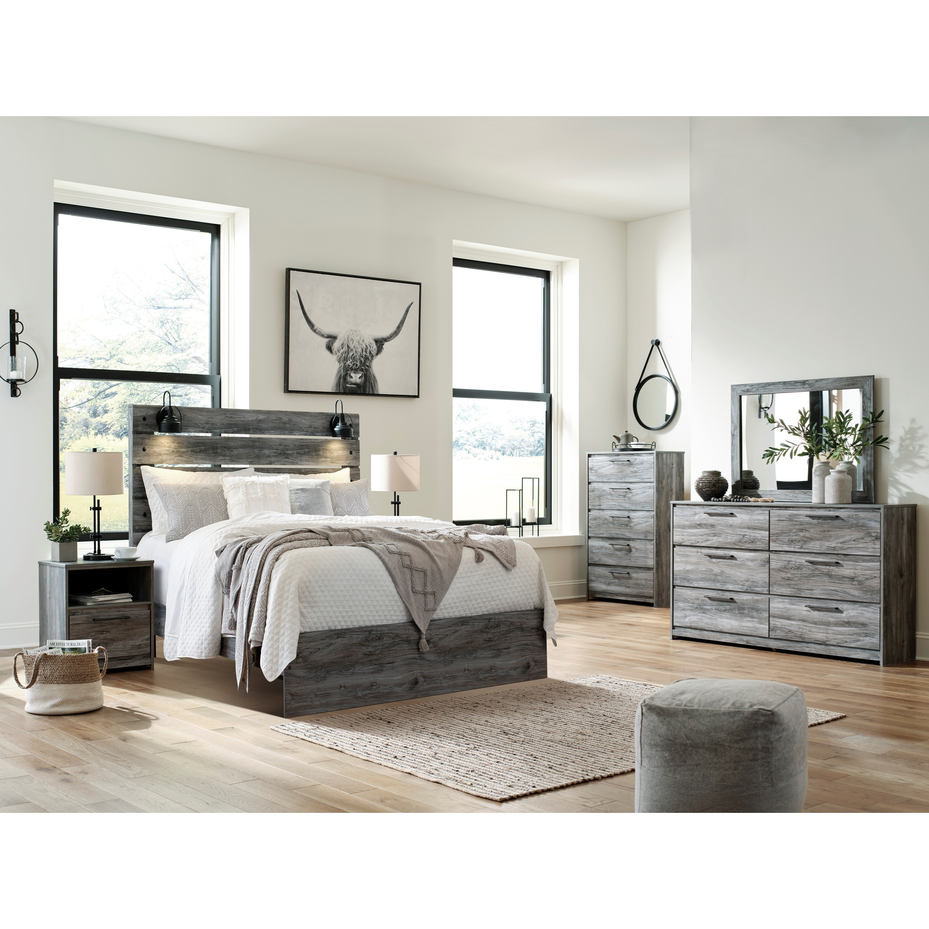 Baystorm Queen Bedroom Group by Ashley (Signature Design) at Johnny Janosik