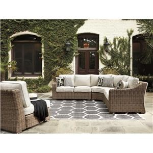 5 Piece Outdoor Conversation Set