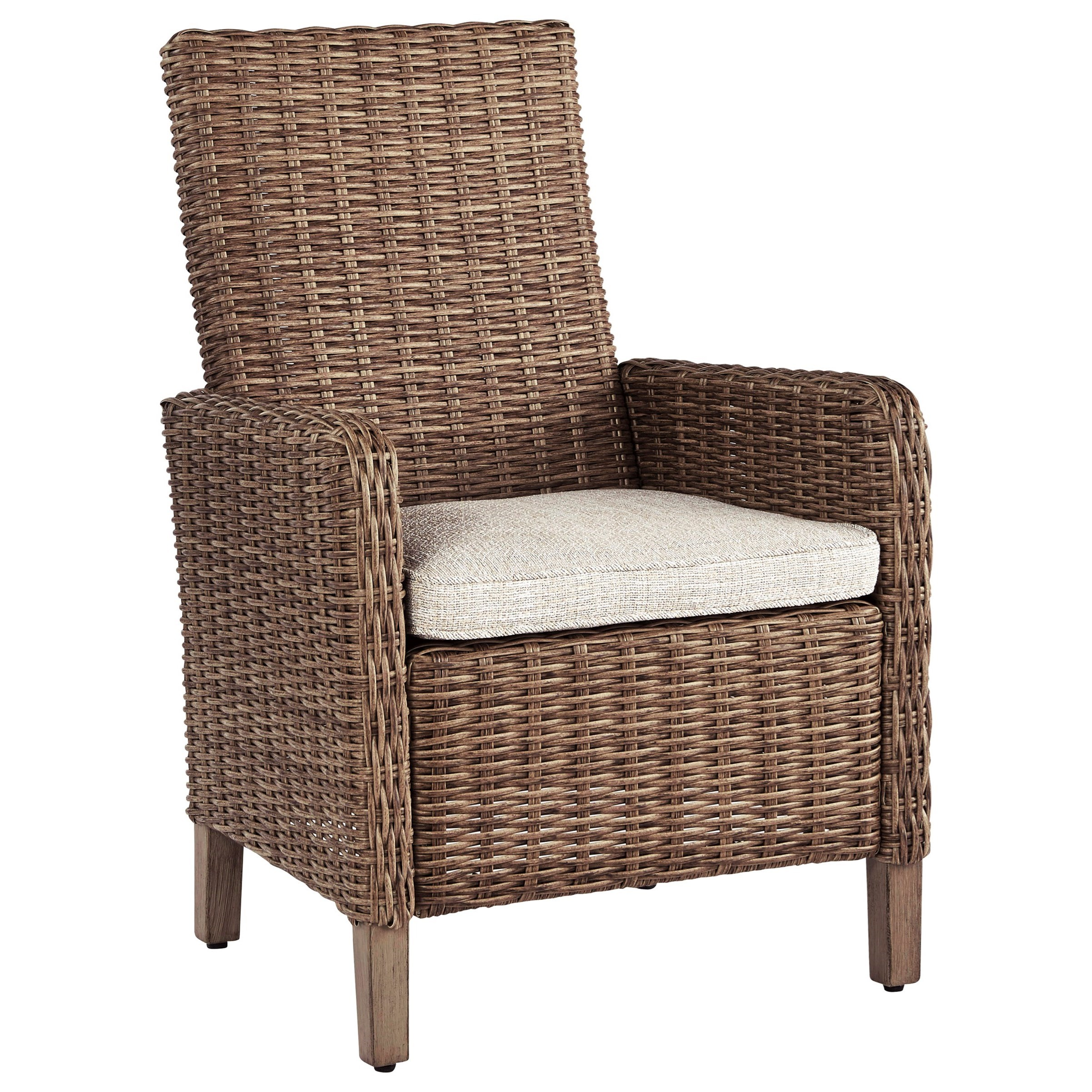 Beachcroft Set of 2 Arm Chairs with Cushion by Signature Design by Ashley at Northeast Factory Direct