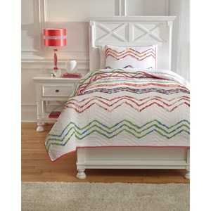 Signature Design by Ashley Bedding Sets Twin Lacentera Quilt Set