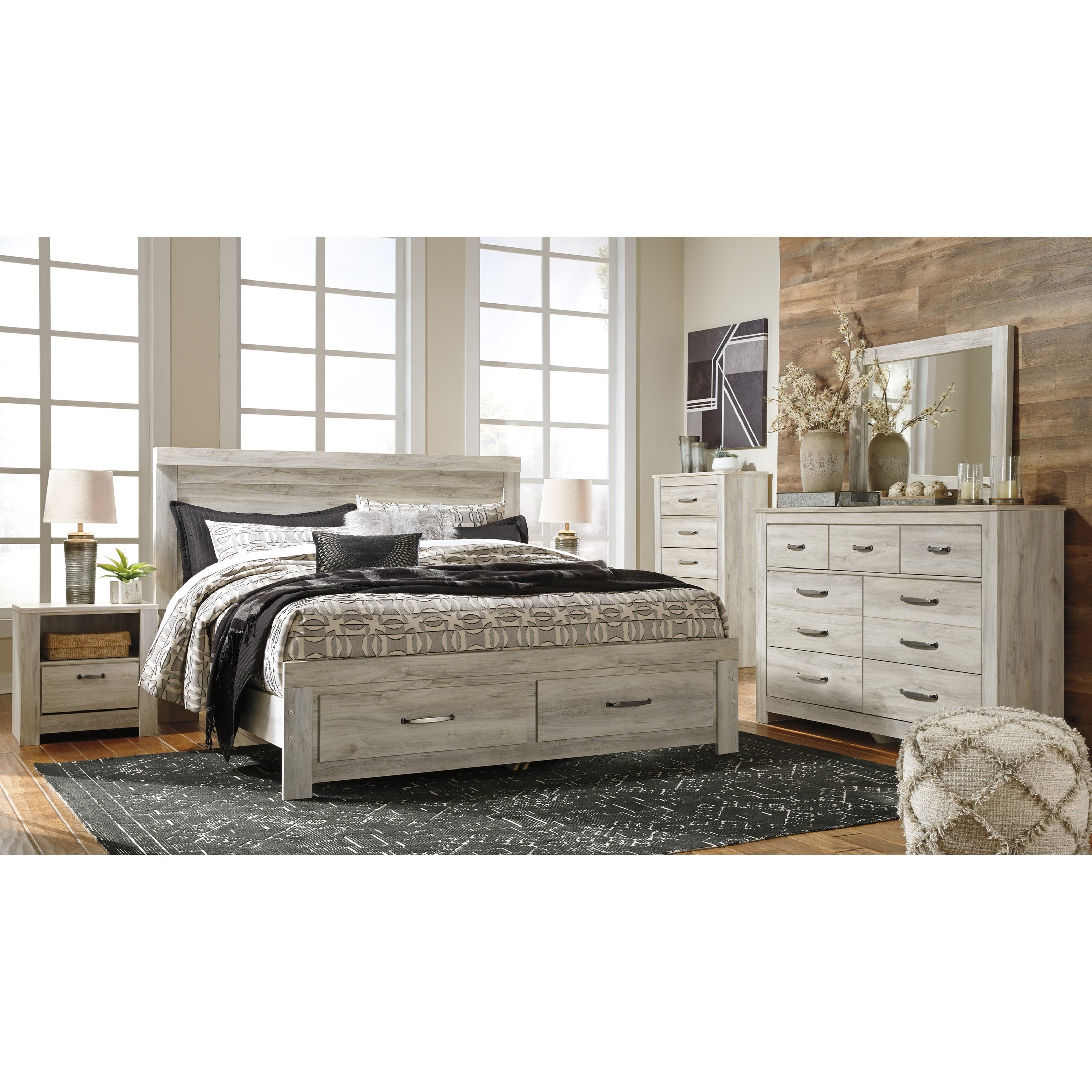 Bellaby King Bedroom Group by Signature Design by Ashley at Household Furniture