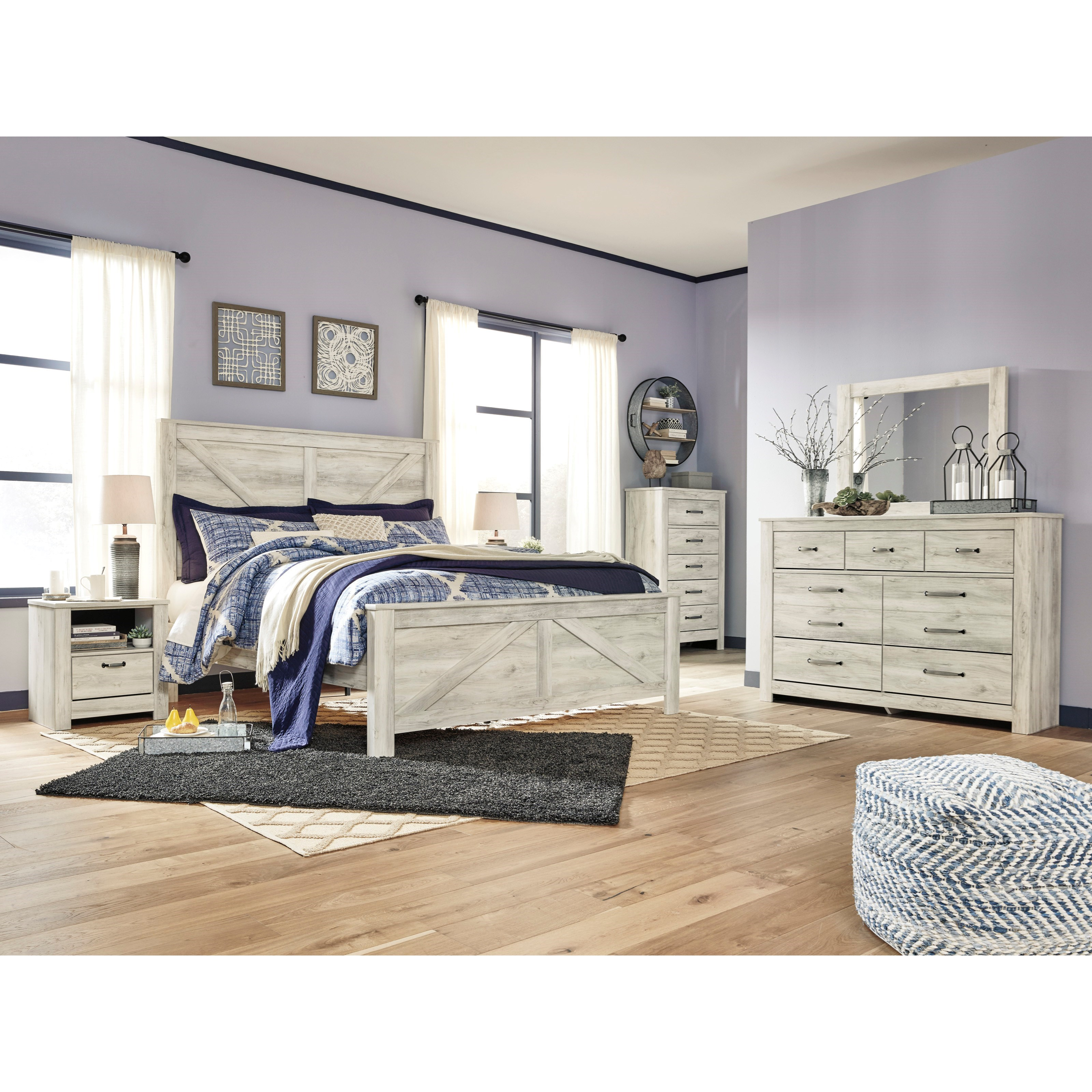 Bellaby King Bedroom Group by Signature Design by Ashley at Sparks HomeStore