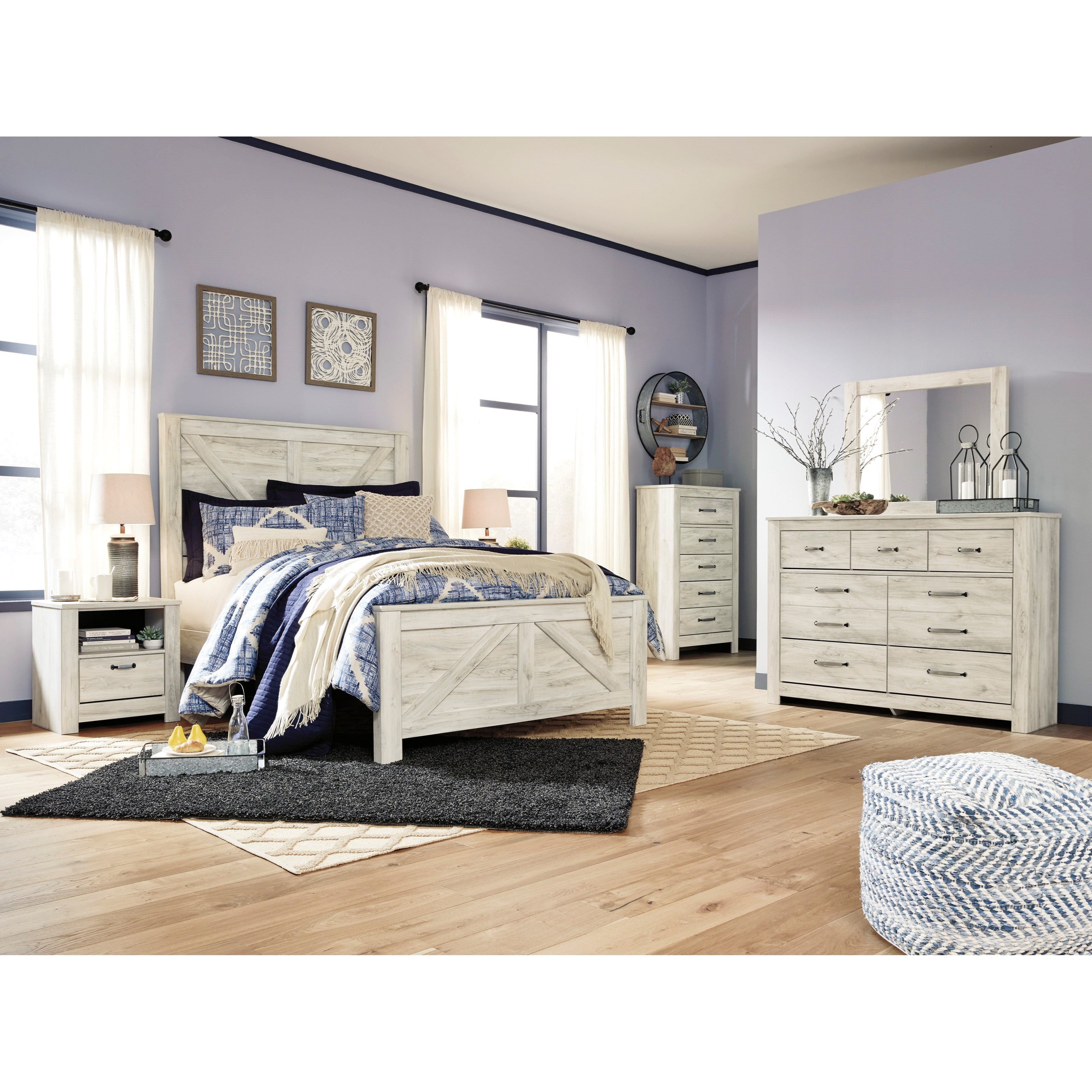 Bellaby Queen Bedroom Group by Signature Design by Ashley at Rife's Home Furniture