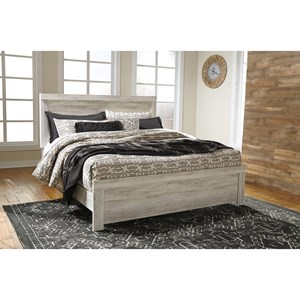 Casual King Panel Bed