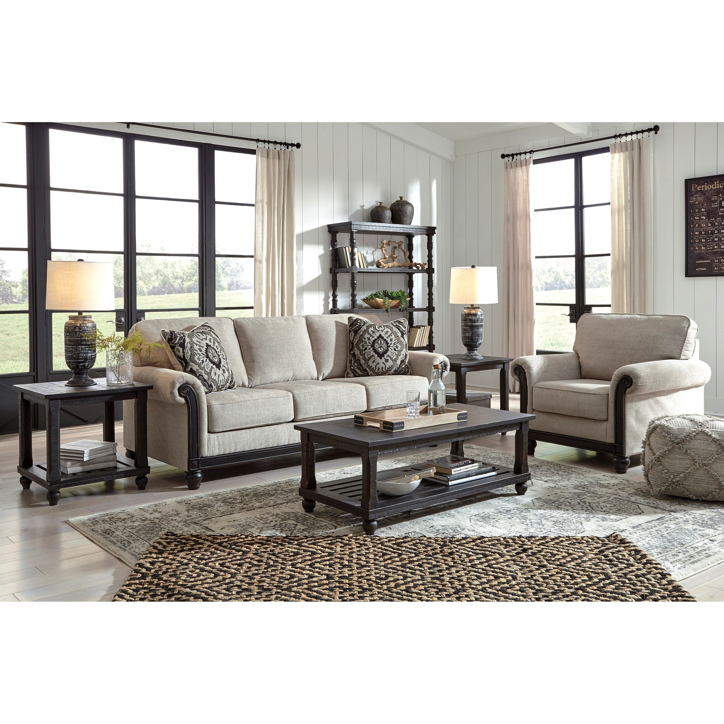 Benbrook Living Room Group by Signature Design by Ashley at Zak's Warehouse Clearance Center