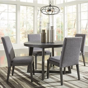 Contemporary Five Piece Chair and Table Set