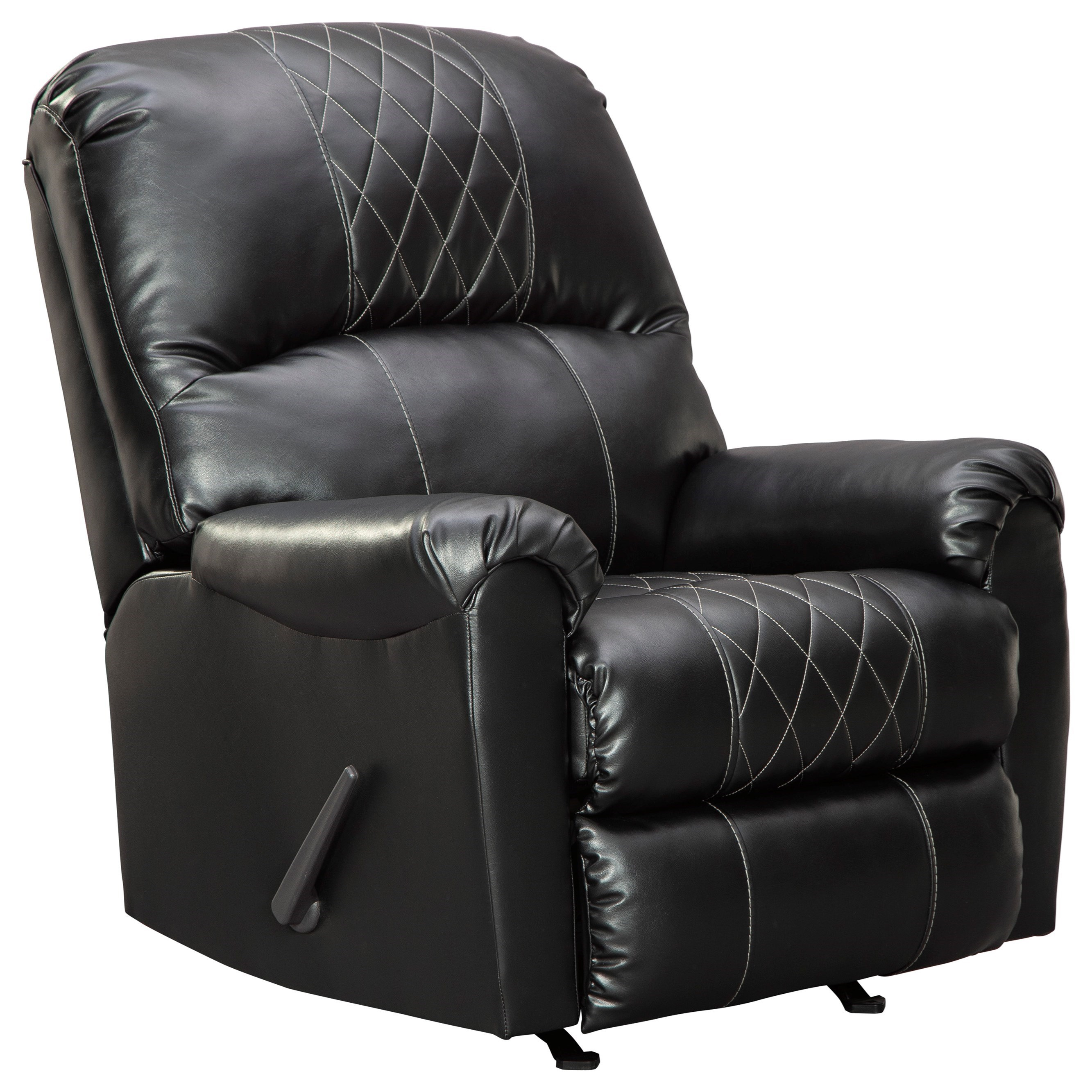 Betrillo Rocker Recliner by Signature Design by Ashley at Nassau Furniture and Mattress