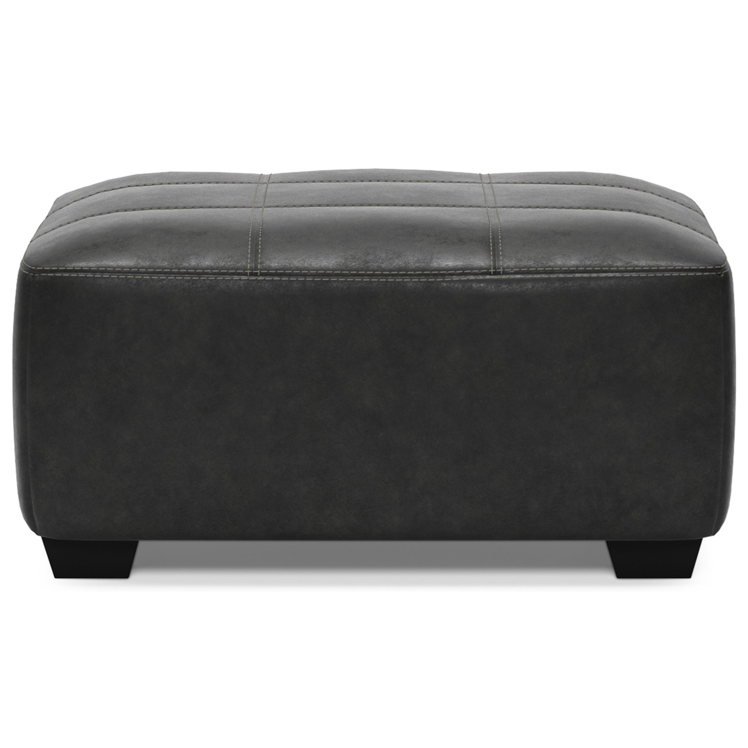 Bilgray Oversized Accent Ottoman by Signature Design by Ashley at Household Furniture